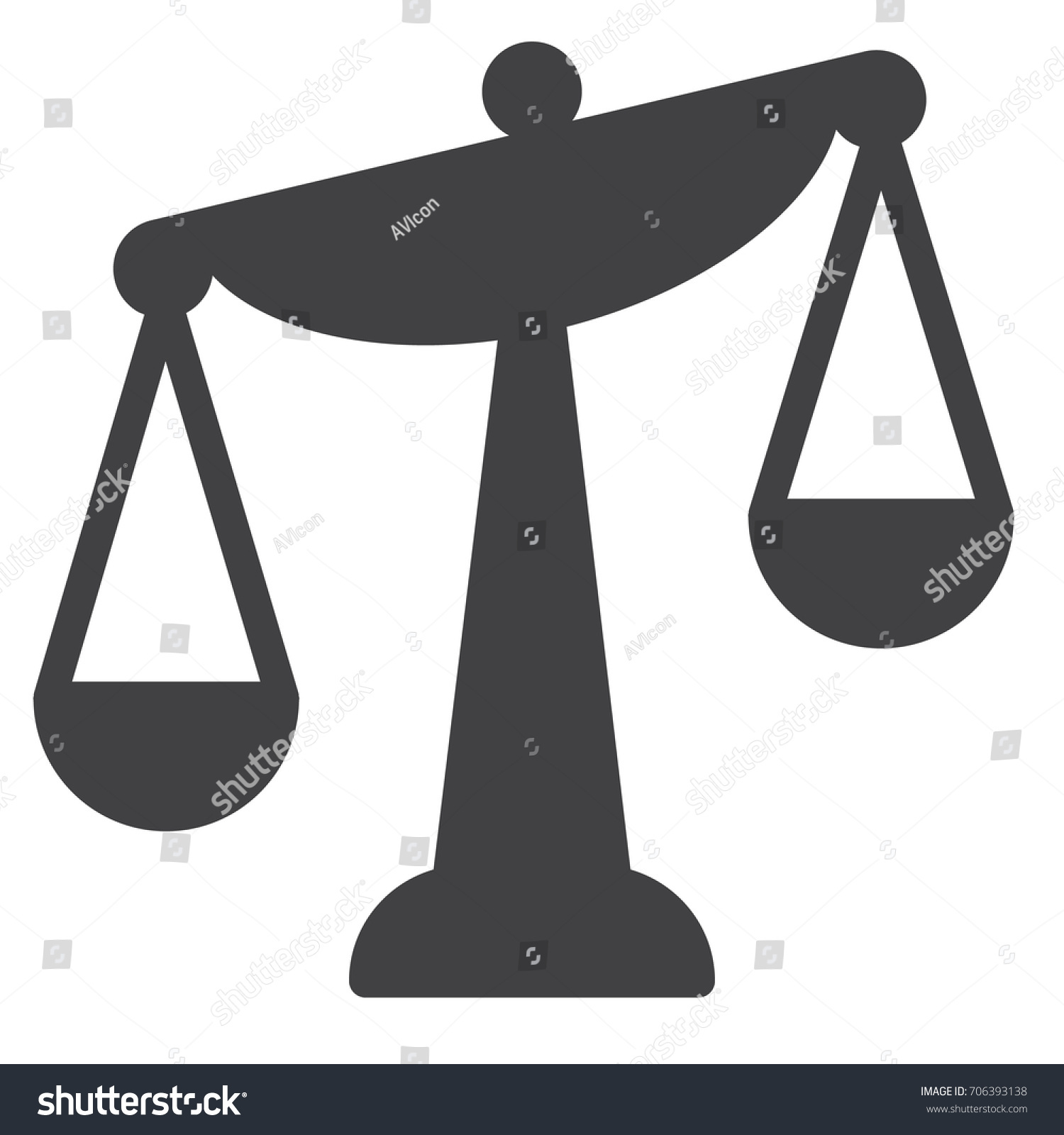 Balance scale icon vector filled flat stock vector 706393138 balance scale icon vector filled flat sign solid pictogram isolated on white symbol biocorpaavc Images