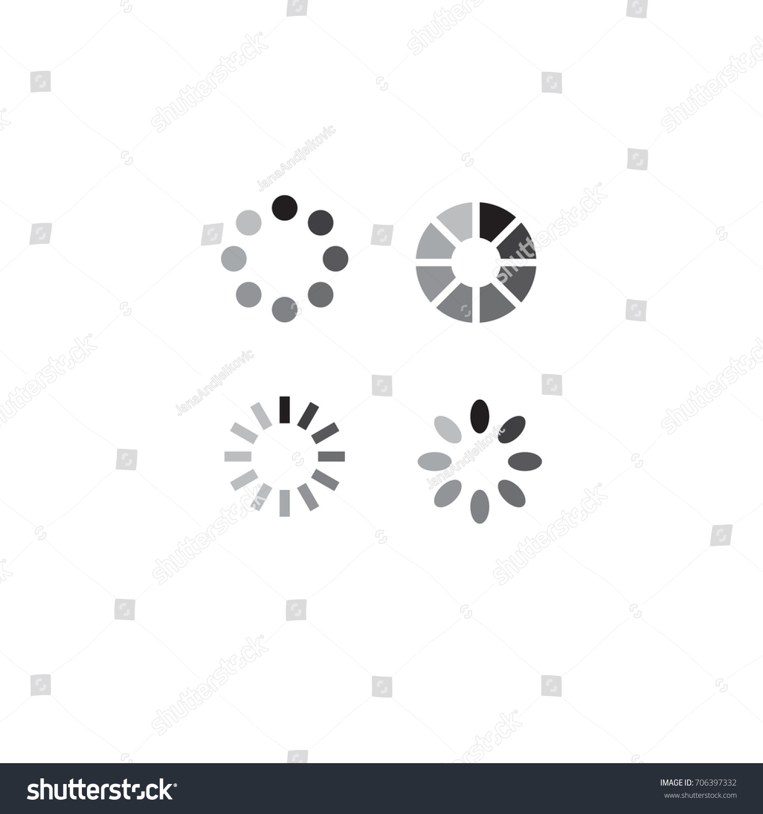 Loading symbol stock vector 706397332 shutterstock loading symbol biocorpaavc Image collections