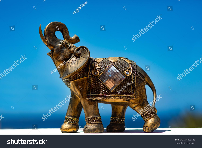 Elephant Symbol Good Luck Stock Photo Edit Now 706423738
