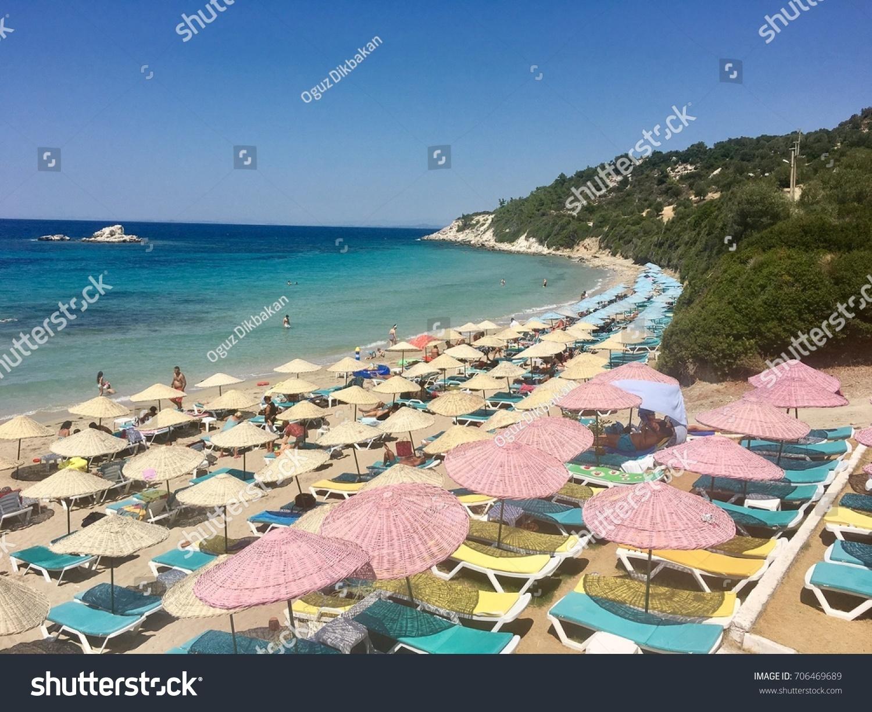 Izmir Dikili Turkey Aug 2 2016 Nature Stock Image 706469689