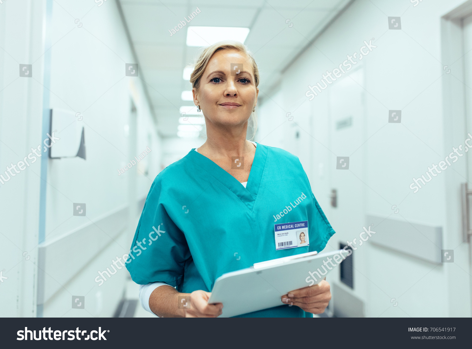 working in healthcare