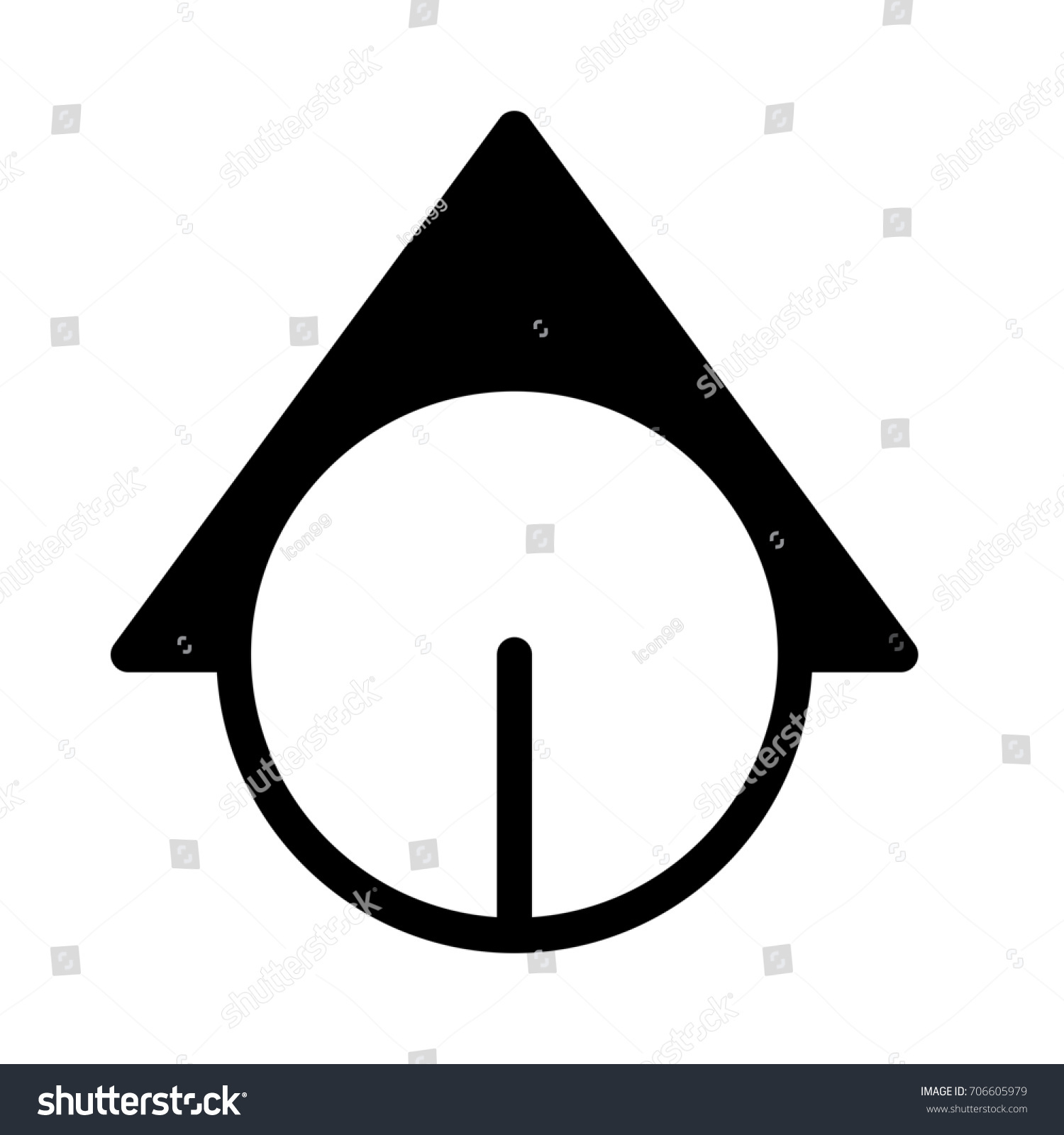 Section symbol stock vector 706605979 shutterstock section symbol buycottarizona Choice Image