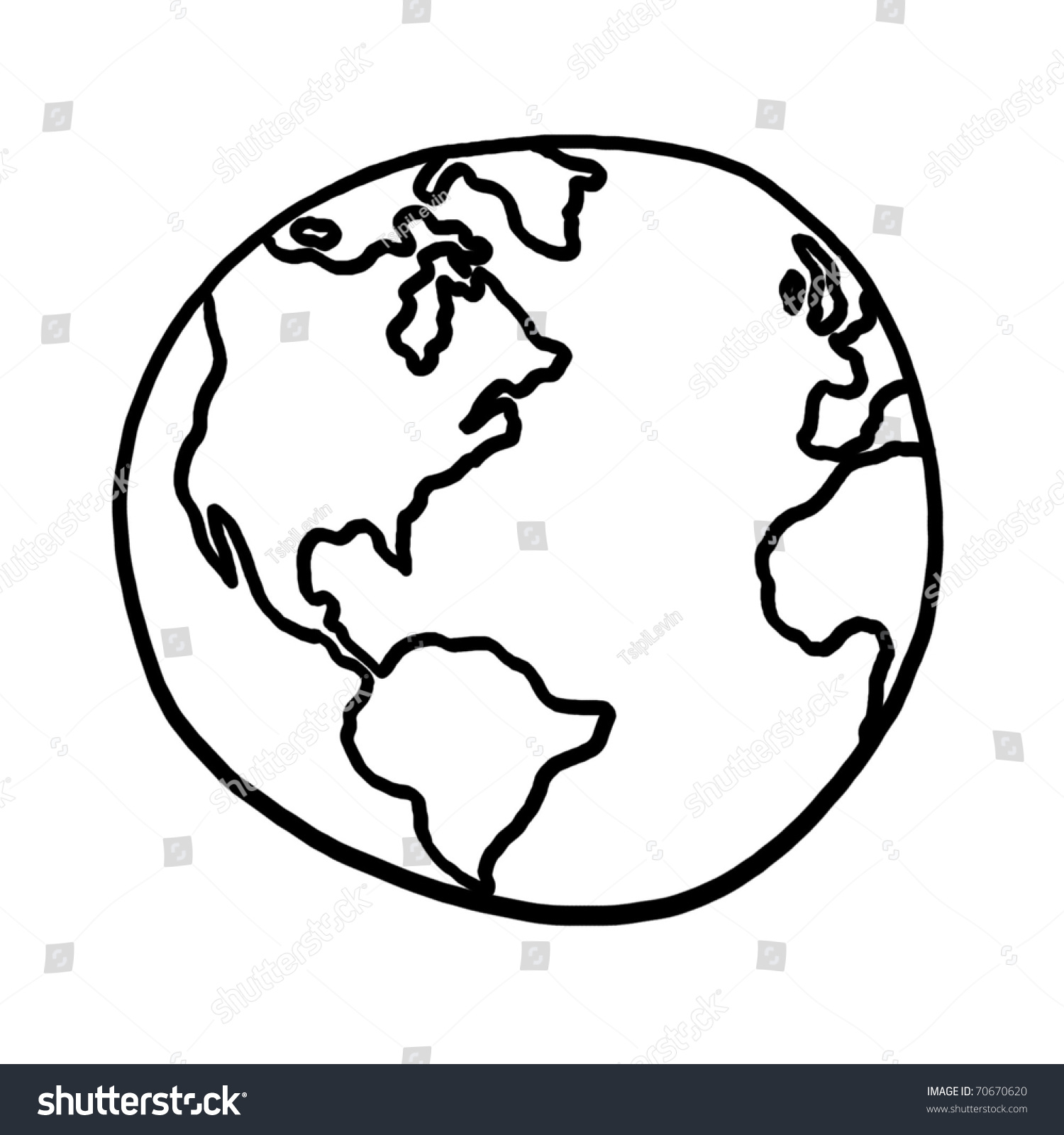 Image Gallery Earth Outline