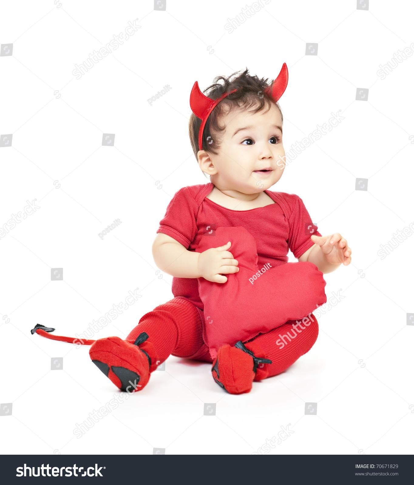 Asian Baby Boy Red Fancy Dress Stock Shutterstock