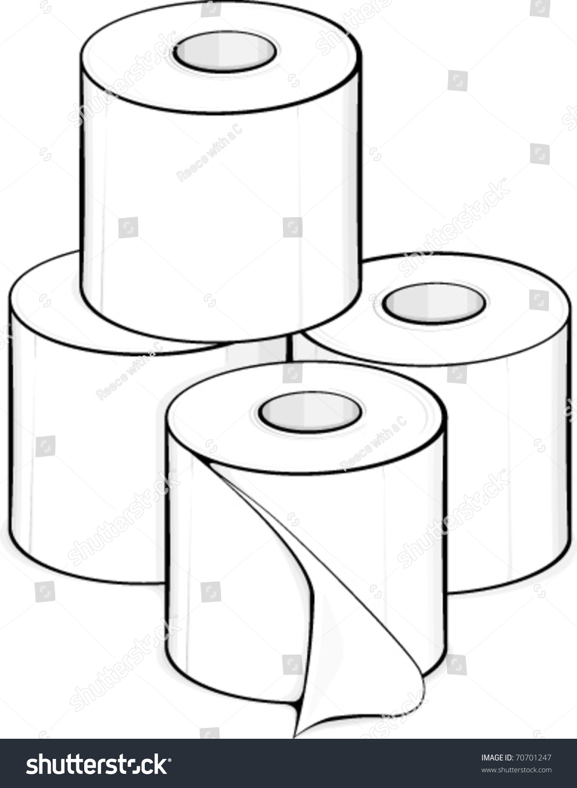 clip art toilet paper only � cliparts