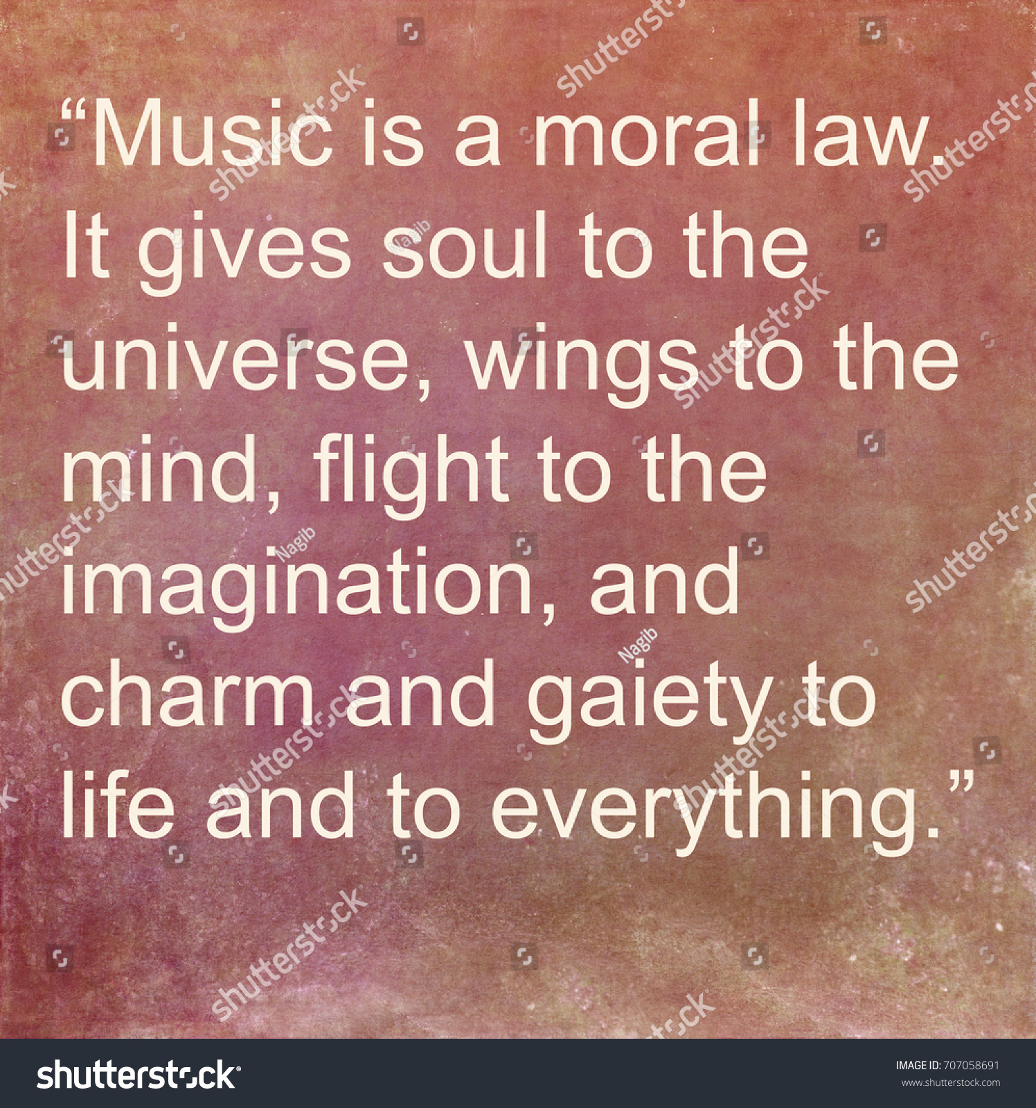 Inspirational Quotes About Music And Life Inspirational Quoteancient Greek Philosopher Stock