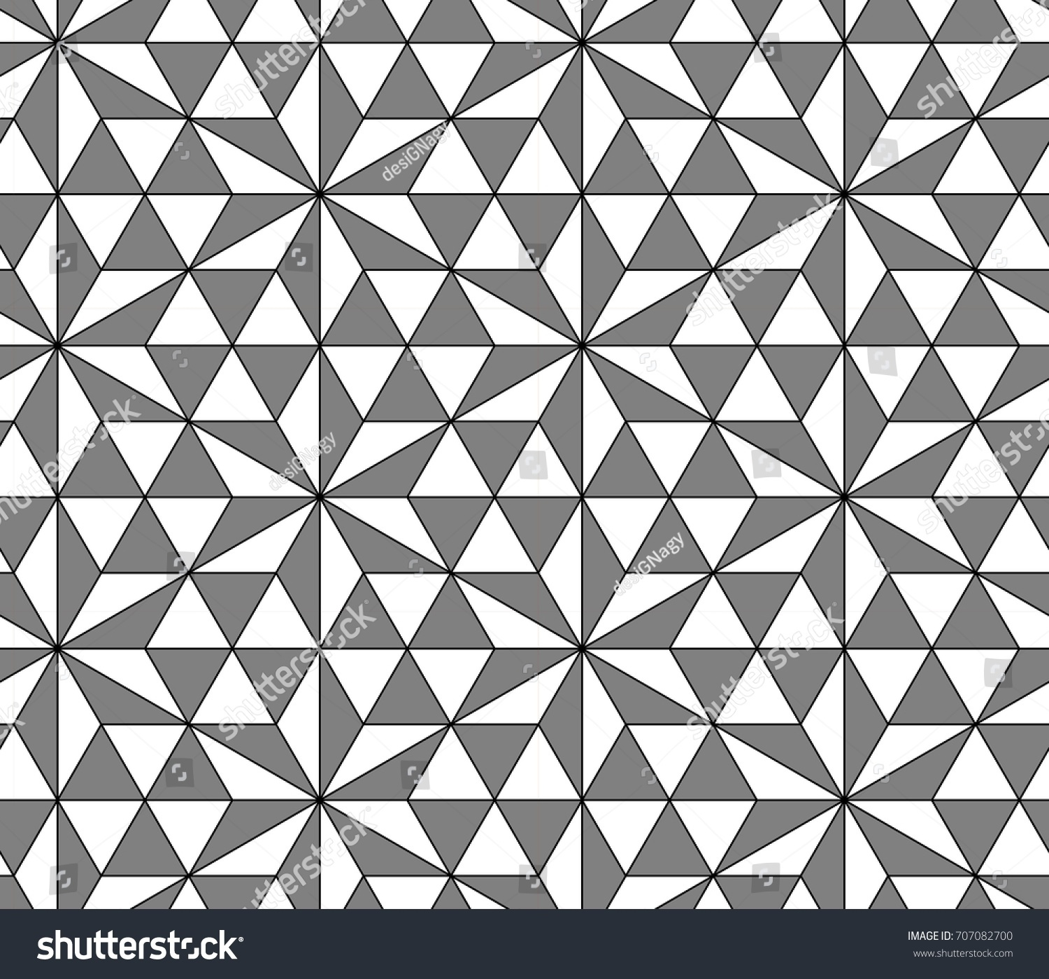 Modern Arabic Mosaic Seamless Pattern Gray Stock Vector 707082700 ... for Modern Arabic Pattern Vector  70ref