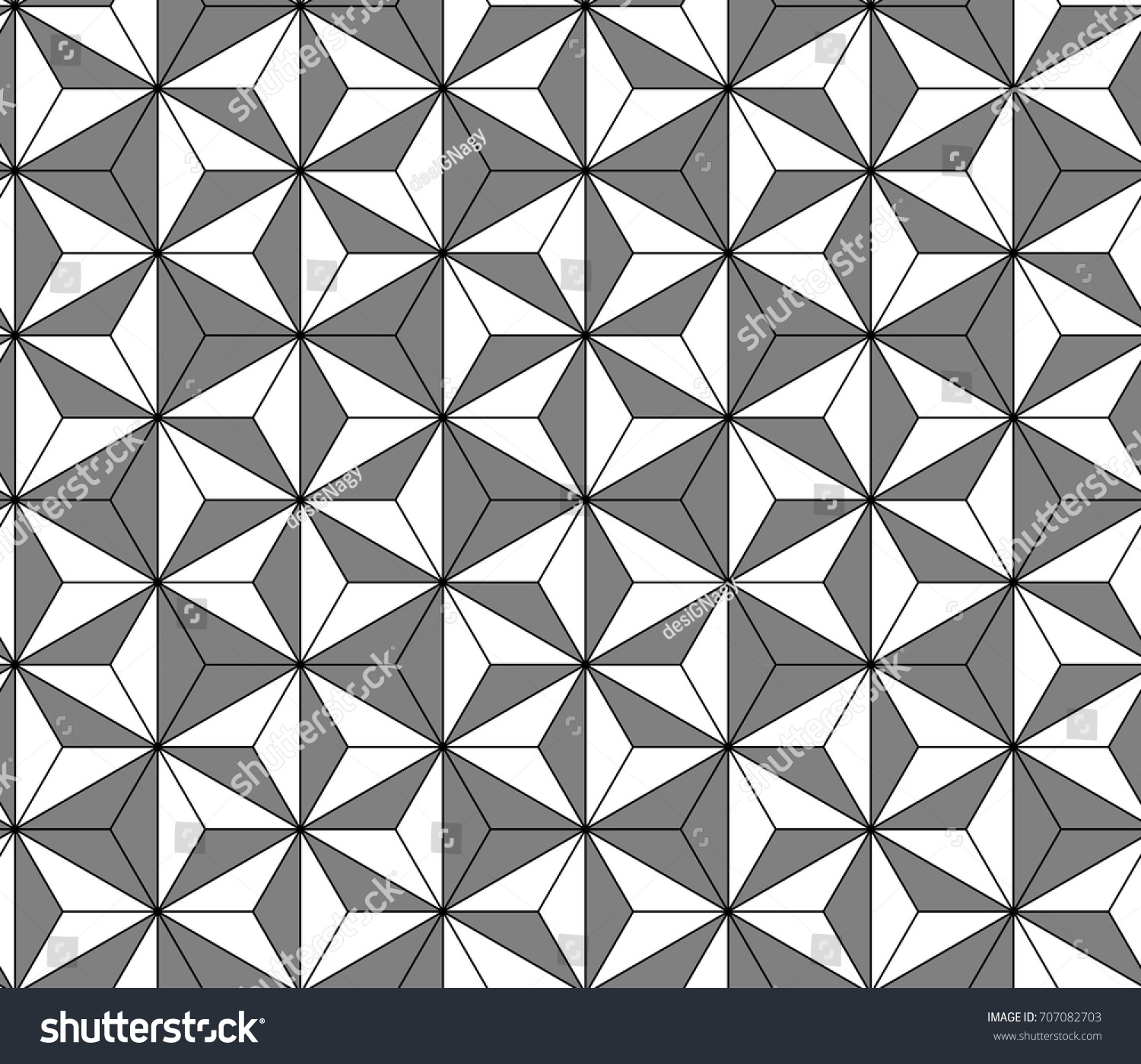 Modern Arabic Mosaic Seamless Pattern Gray Stock Vector 707082703 ... for Modern Arabic Pattern Vector  45gtk