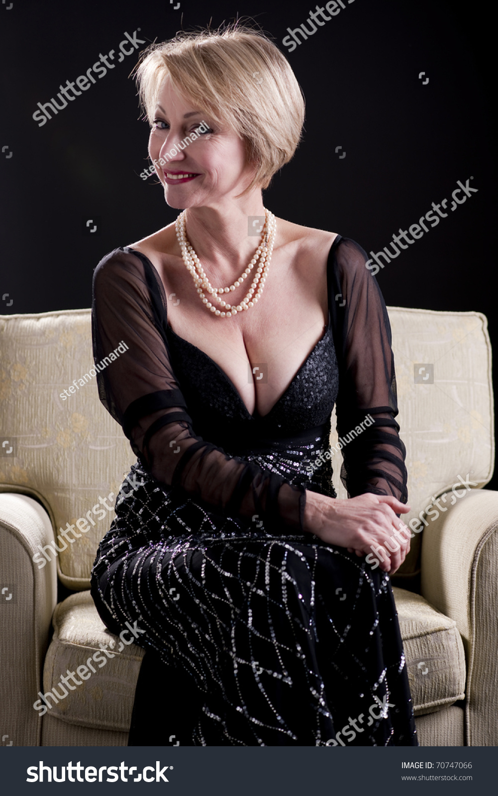 Evening wear mature