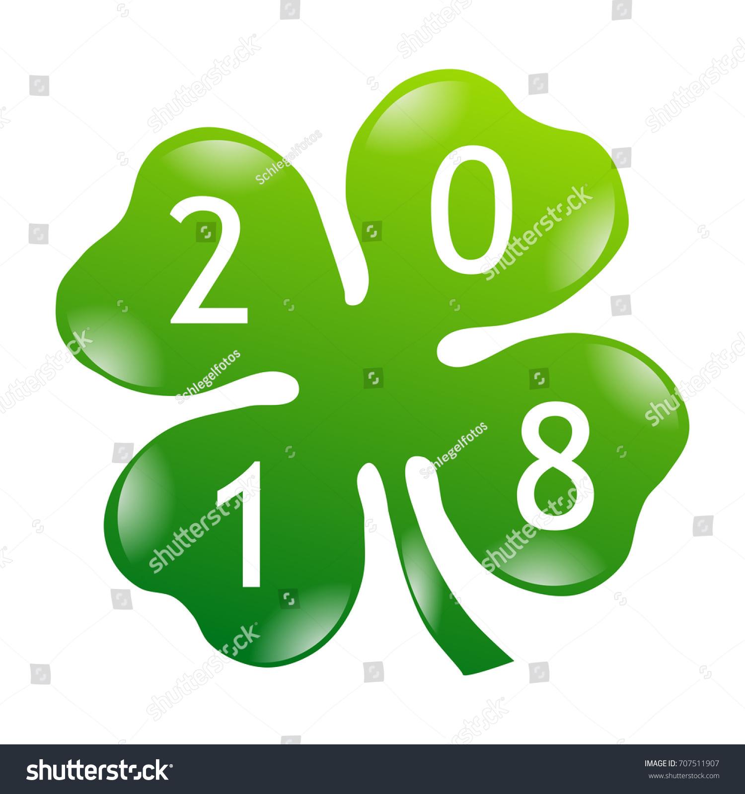 Uncategorized Lucky Symbol shamrock 2018 lucky symbol stock illustration 707511907 shutterstock symbol