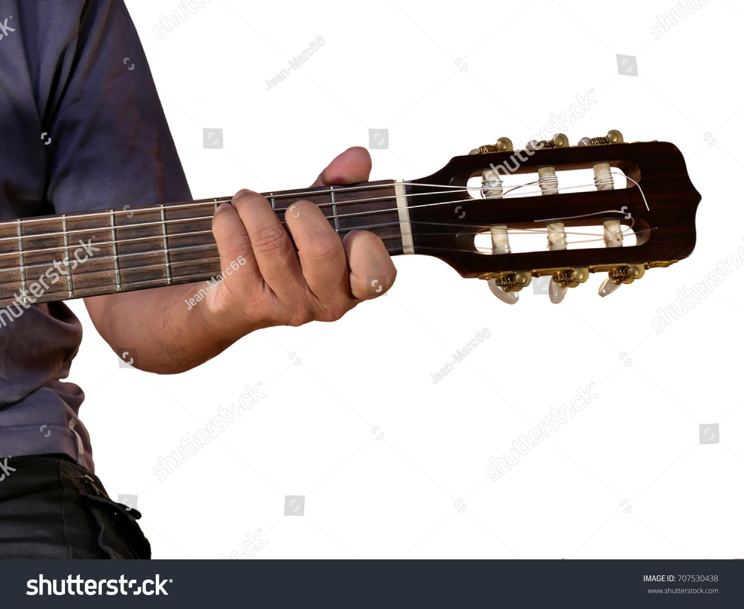 C Chord On Acoustic Guitar Stock Photo Edit Now 707530438