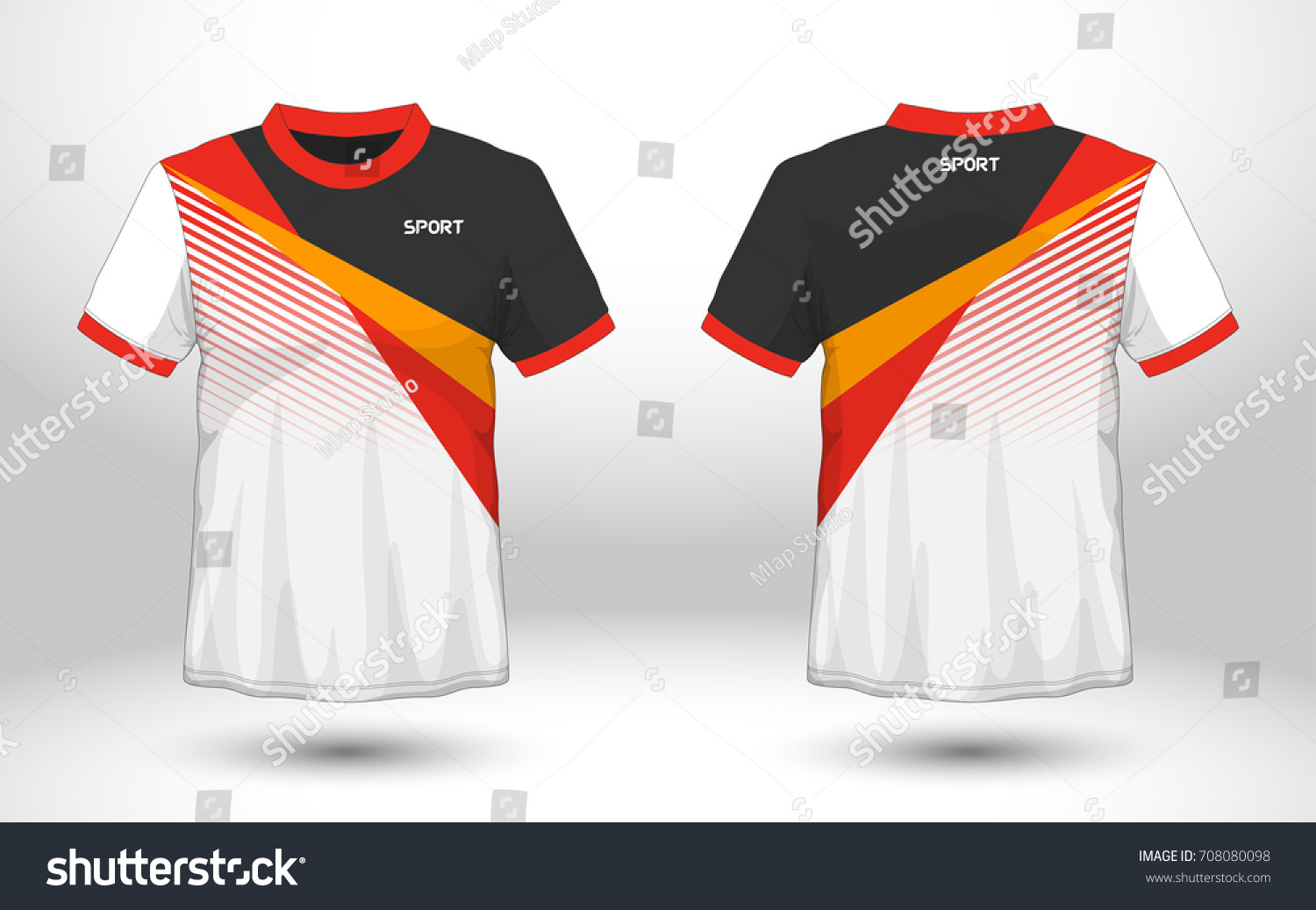 Royalty Free Red And Black Layout Football Sport T 708080098 Stock