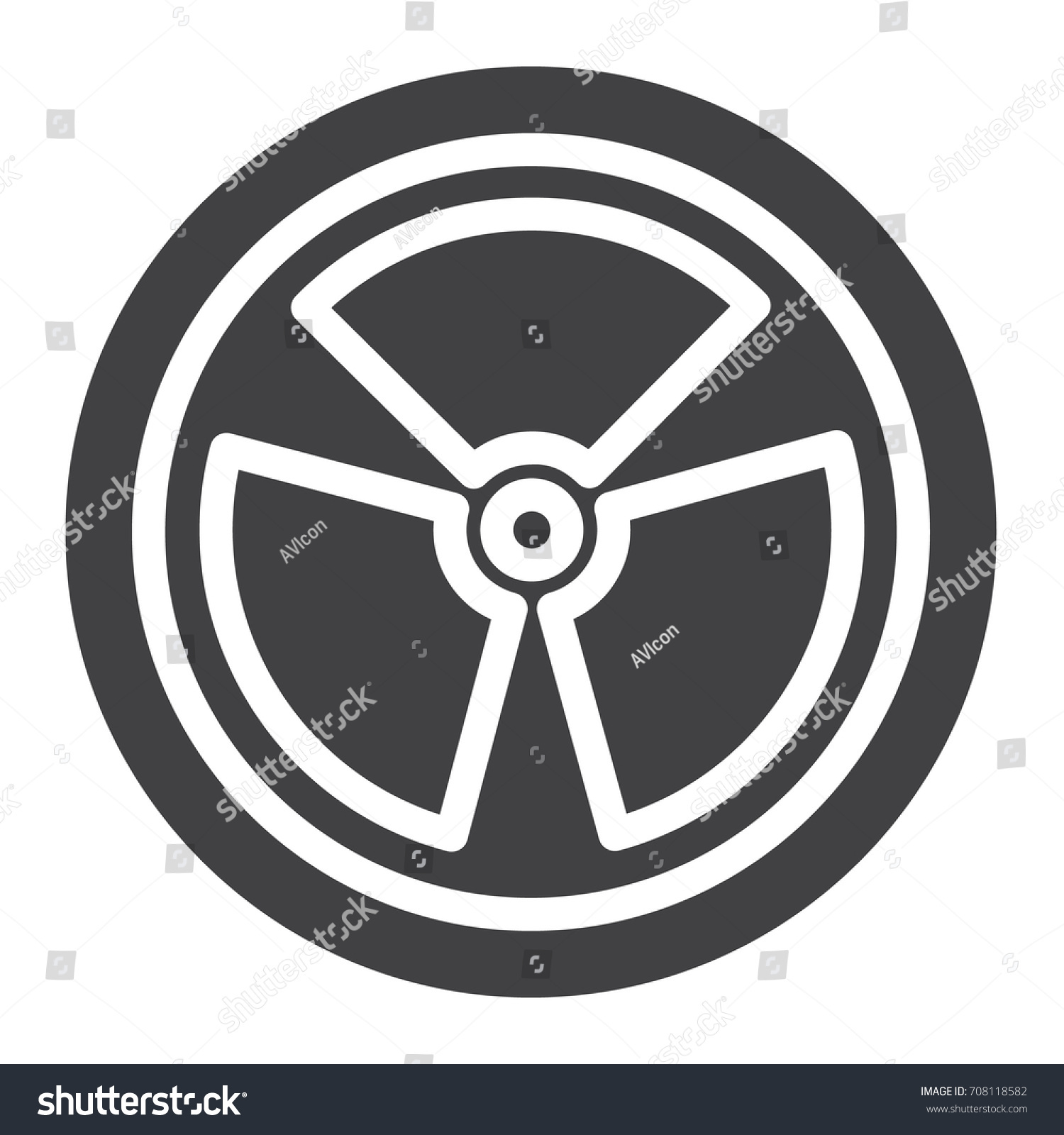 Nuclear power icon vector filled flat stock vector 708118582 nuclear power icon vector filled flat sign solid pictogram isolated on white symbol biocorpaavc Gallery
