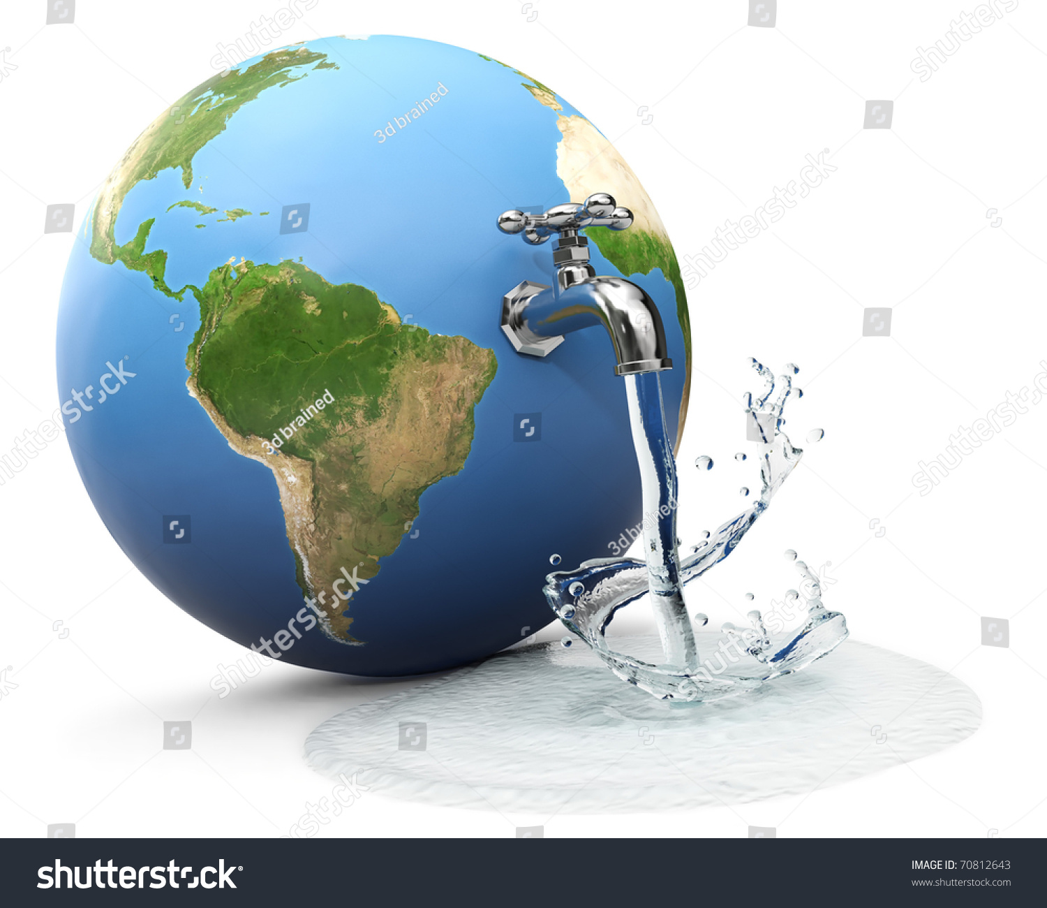 Terre Et Eaux Le Mans Inside The Earth Diagram Of Earth39s Interior Globe With Water Tap Dropping Stock Photo