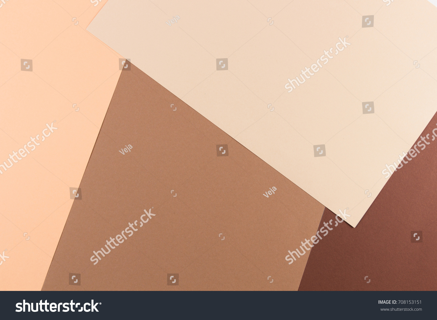 Color Papers Geometry Composition Background Pink Stock Photo ...