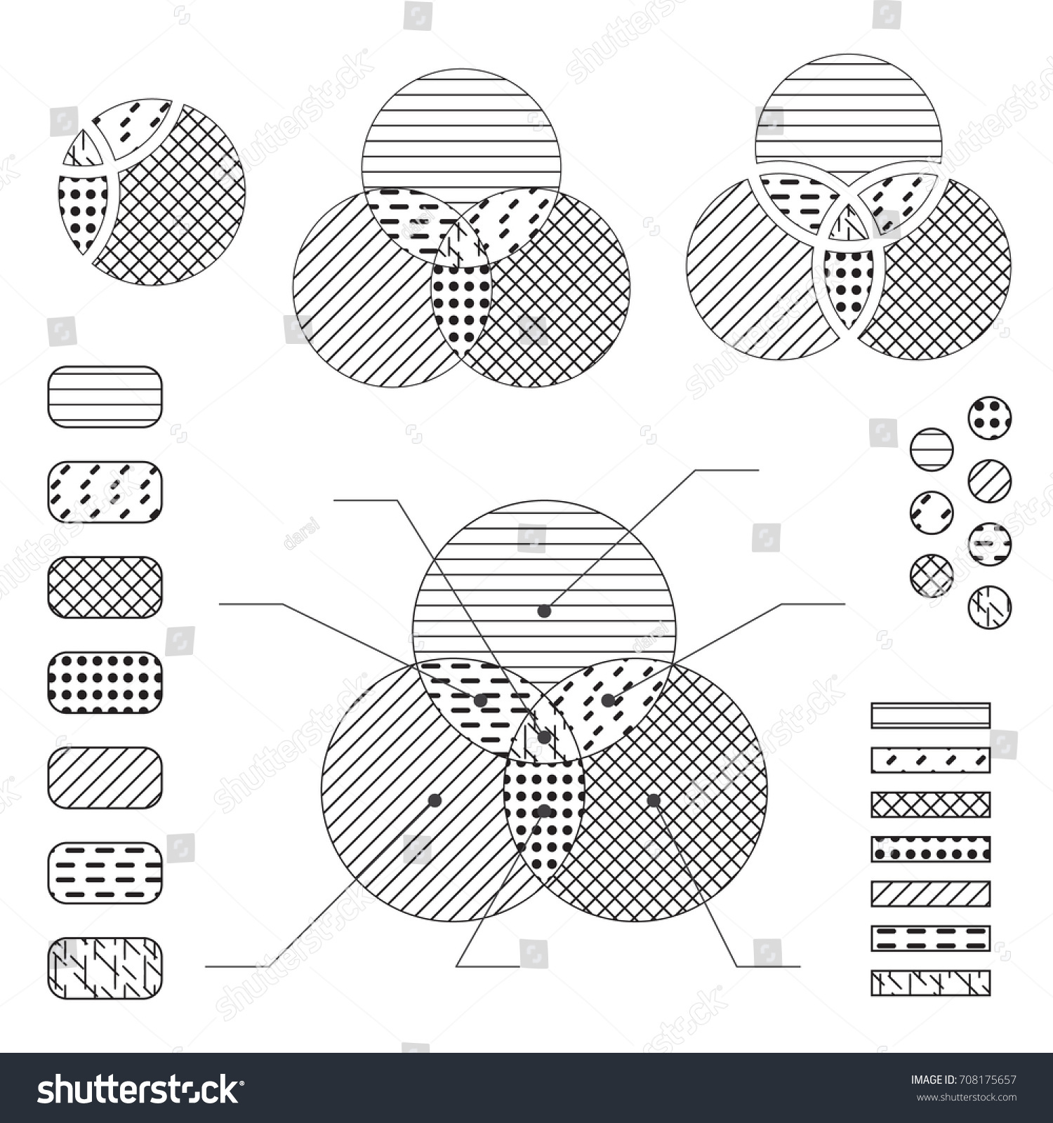 Venn diagram note lines black isolated stock vector 708175657 venn diagram note lines black isolated stock vector 708175657 shutterstock ccuart Choice Image