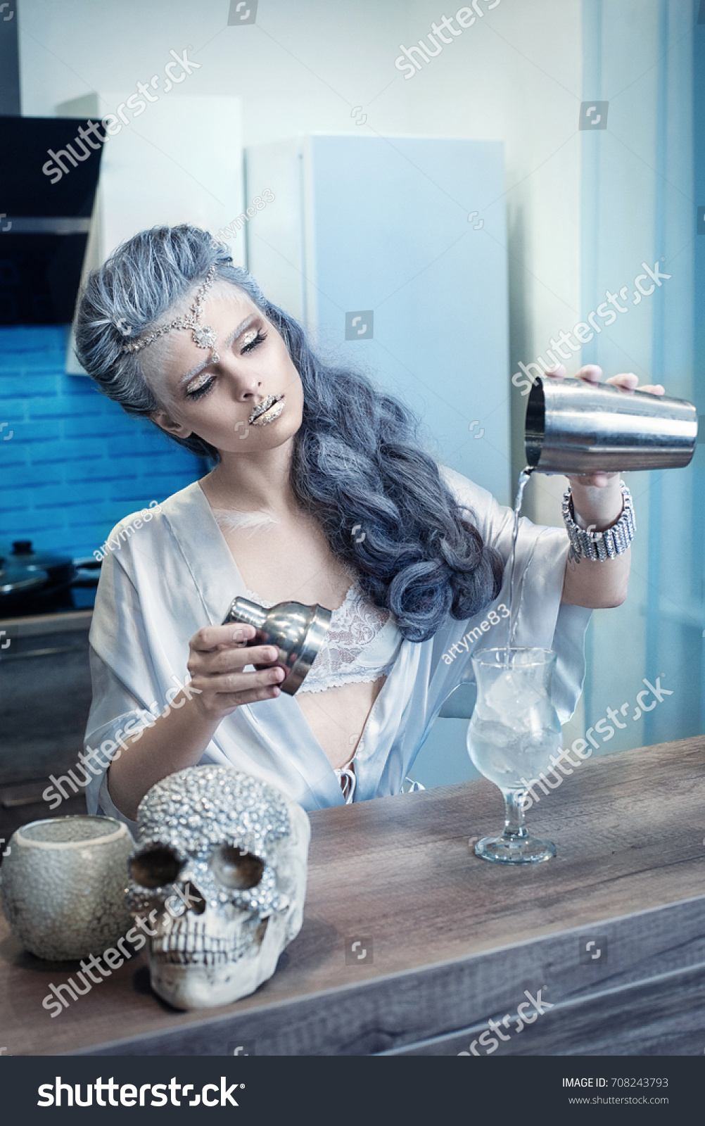Beautiful Young Woman Image Fairy Tale Stock Photo (Royalty Free ...