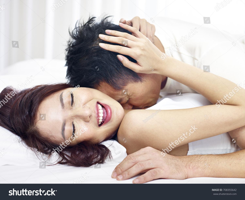 Loving Couple Making Love
