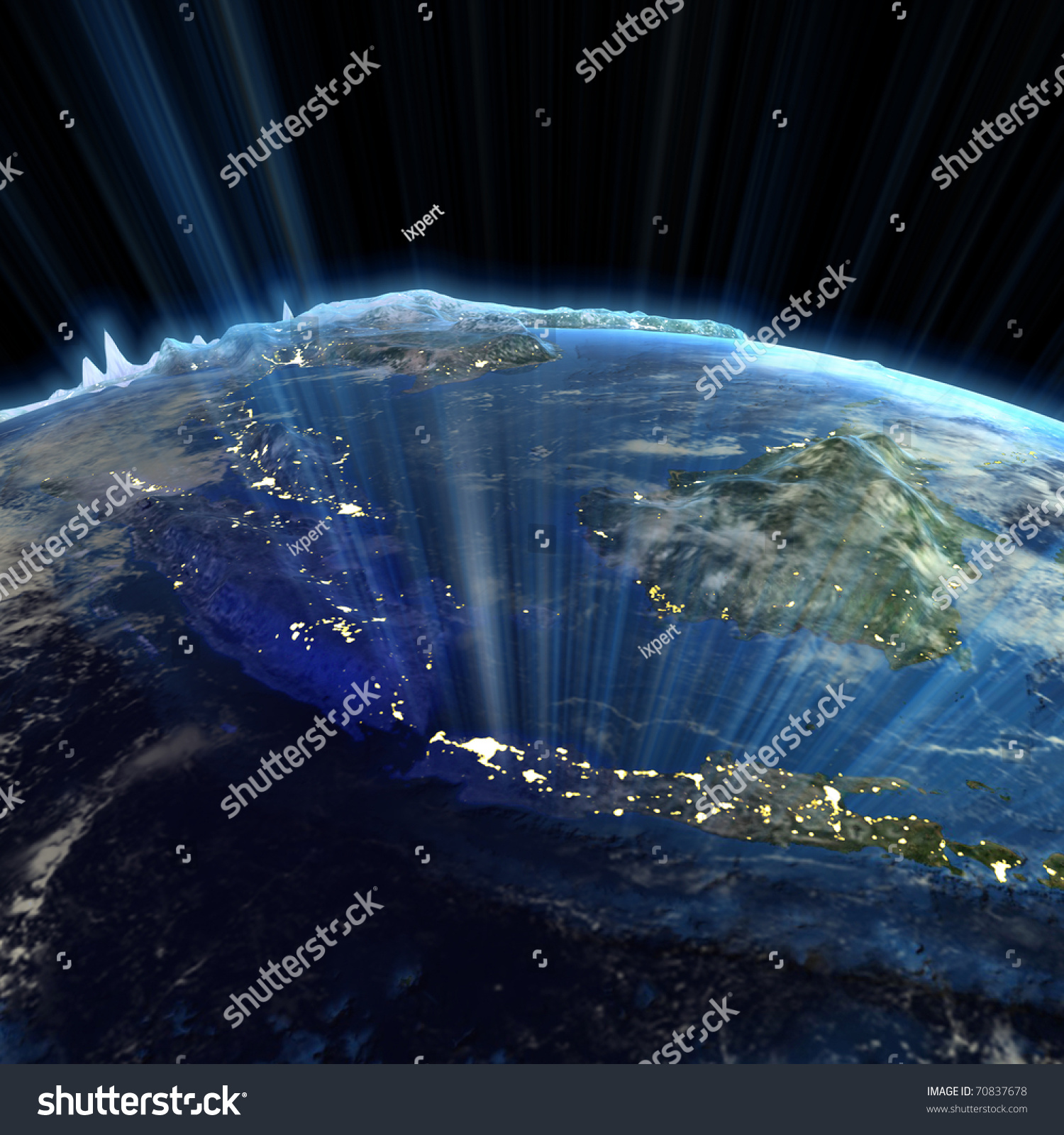 South east asia real relief earth map stock illustration 70837678 earth map from nasa gumiabroncs Images