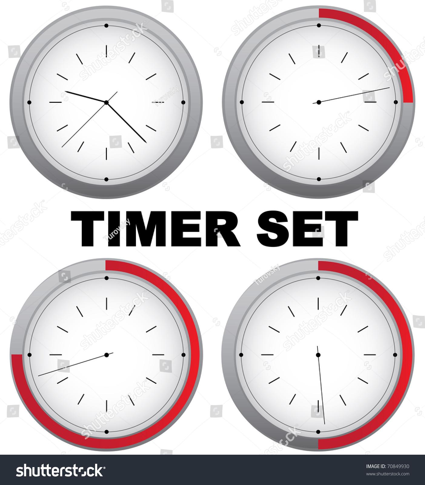 set a timer for 15 mins