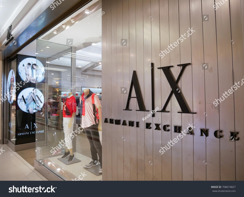 1d6dee3b9c2 SELANGOR MALAYSIA SEPTEMBER 4 2017 Armani Stock Photo (Edit Now ...