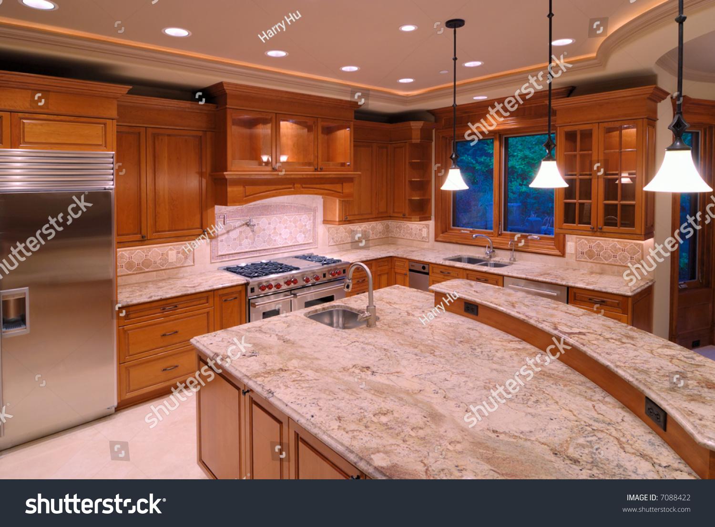 American Kitchen Luxury American Kitchen Series Stock Photo 7088422 Shutterstock