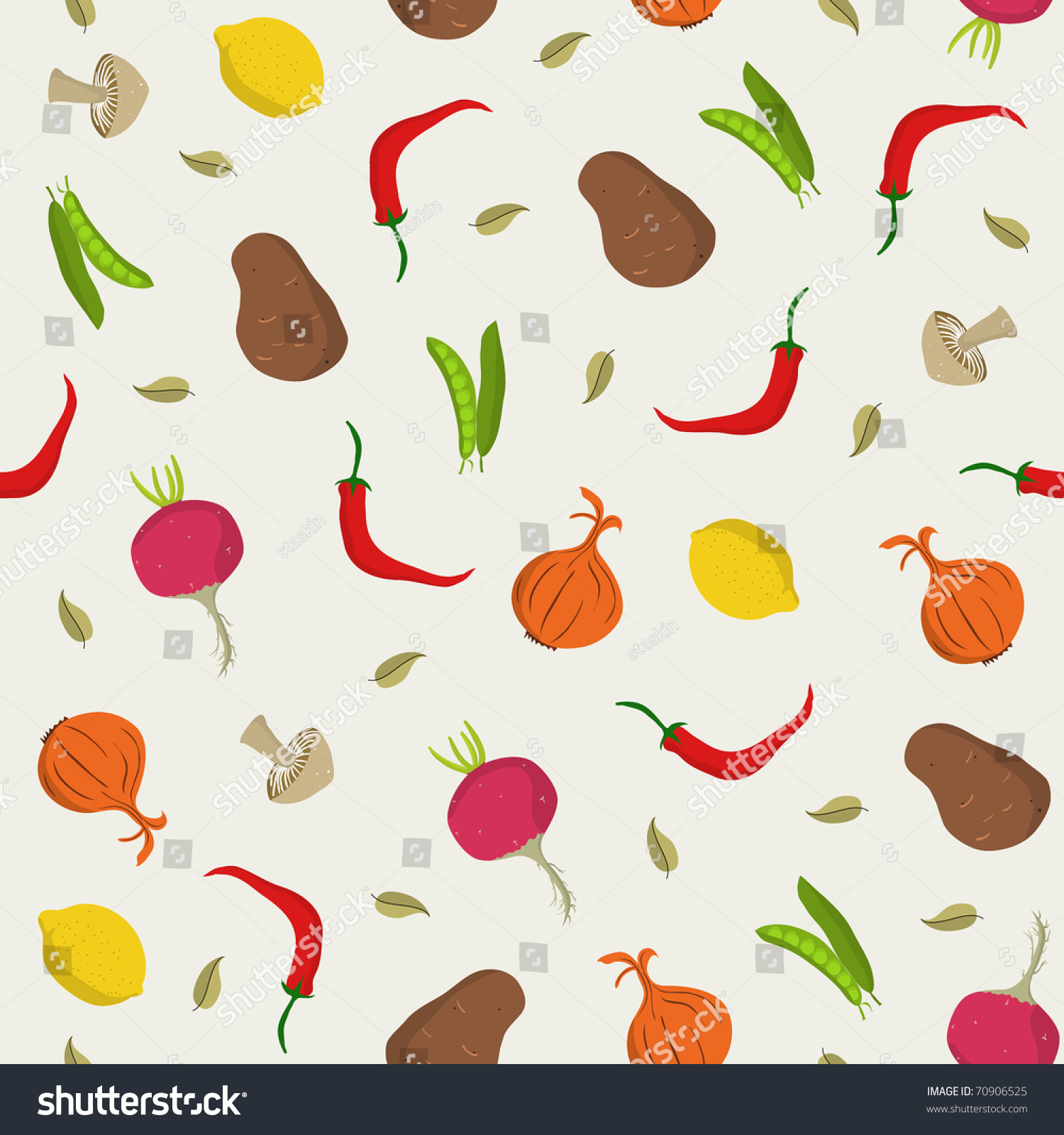Vegetable pattern - photo#4