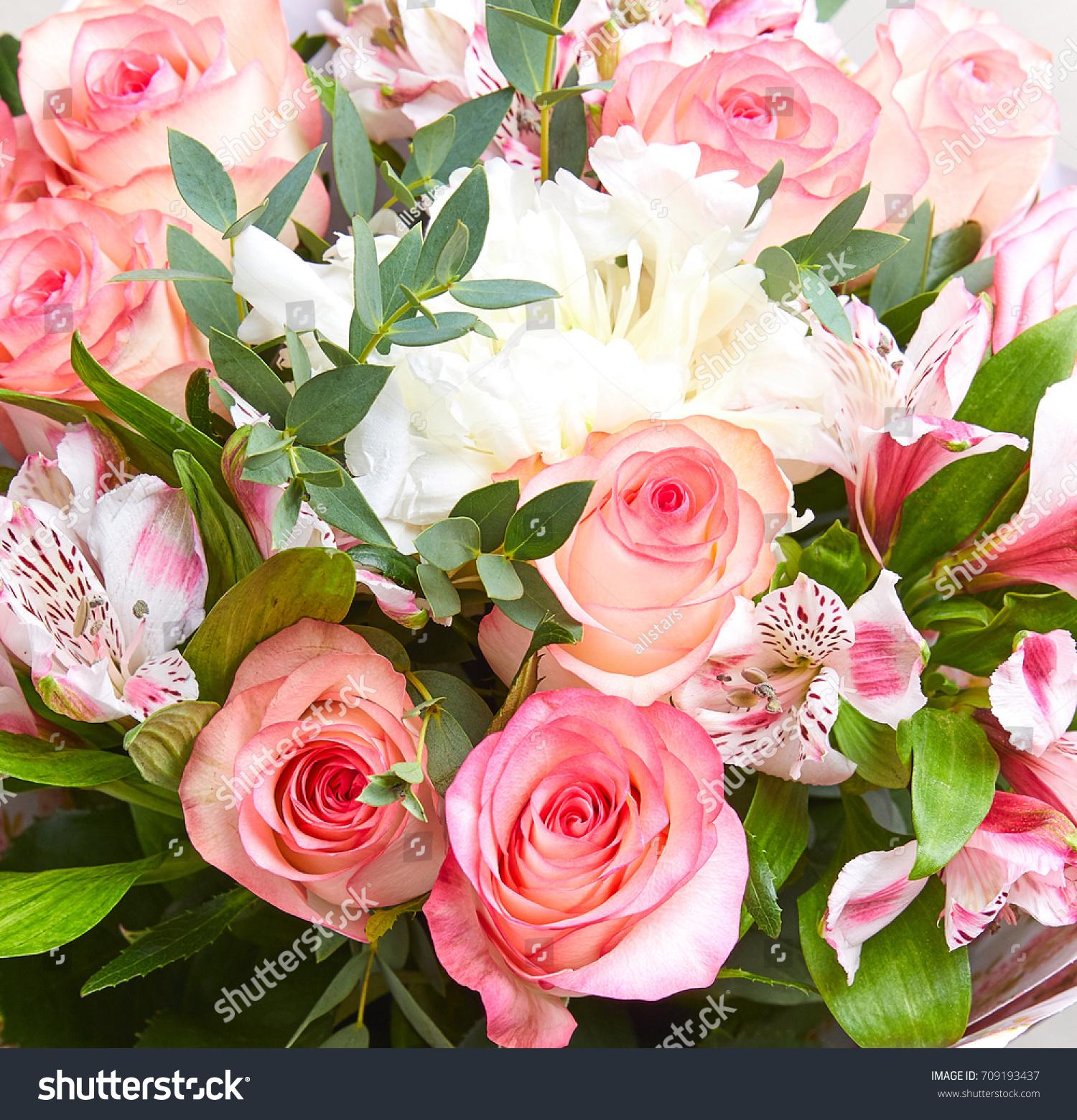 Nice Flower Bouquet Stock Photo Royalty Free 709193437 Shutterstock