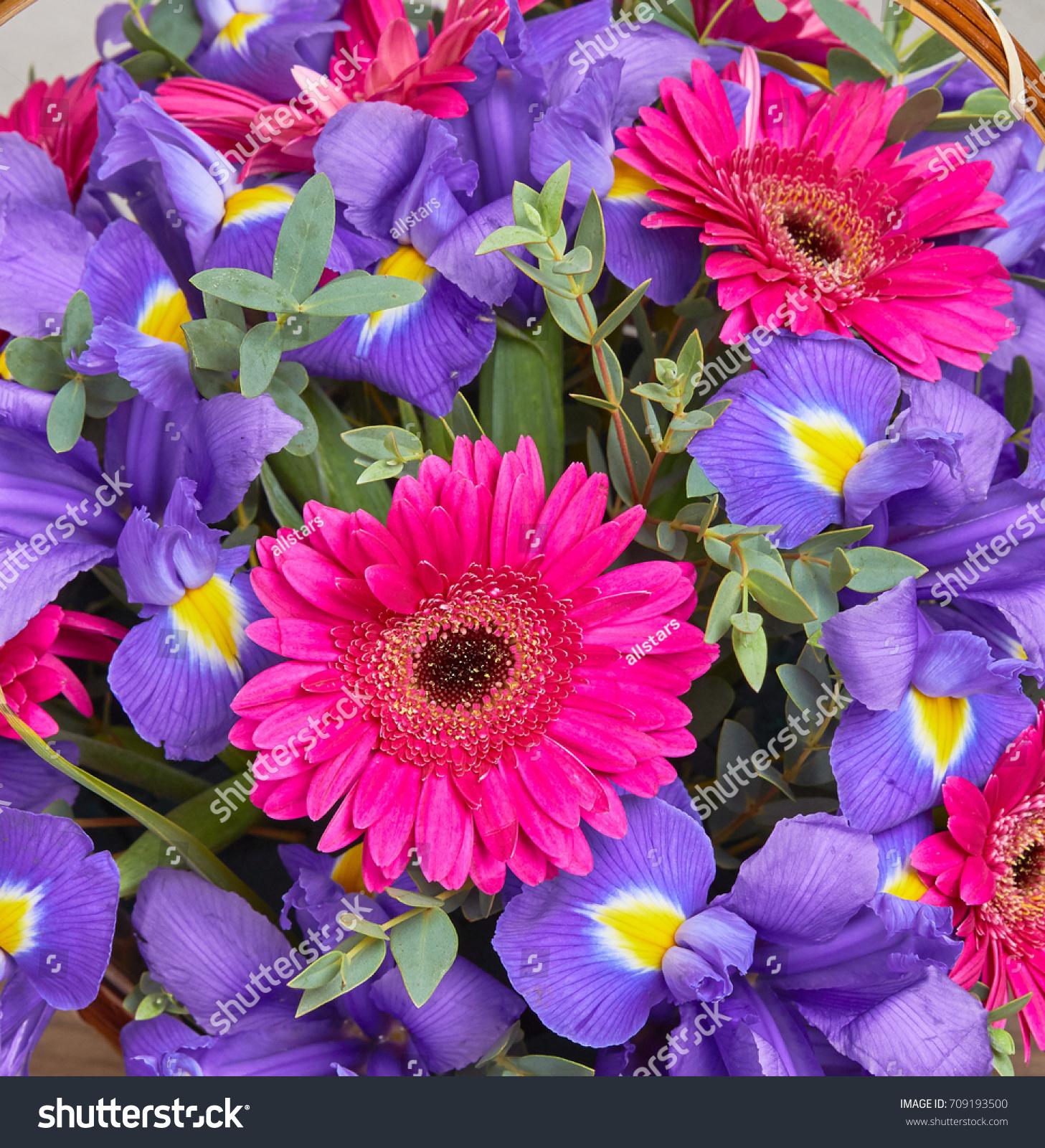 Nice Flower Bouquet Stock Photo Royalty Free 709193500 Shutterstock