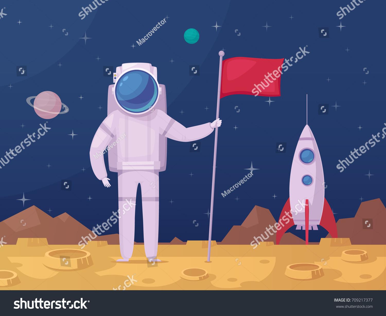 rocket landing on moon - photo #46