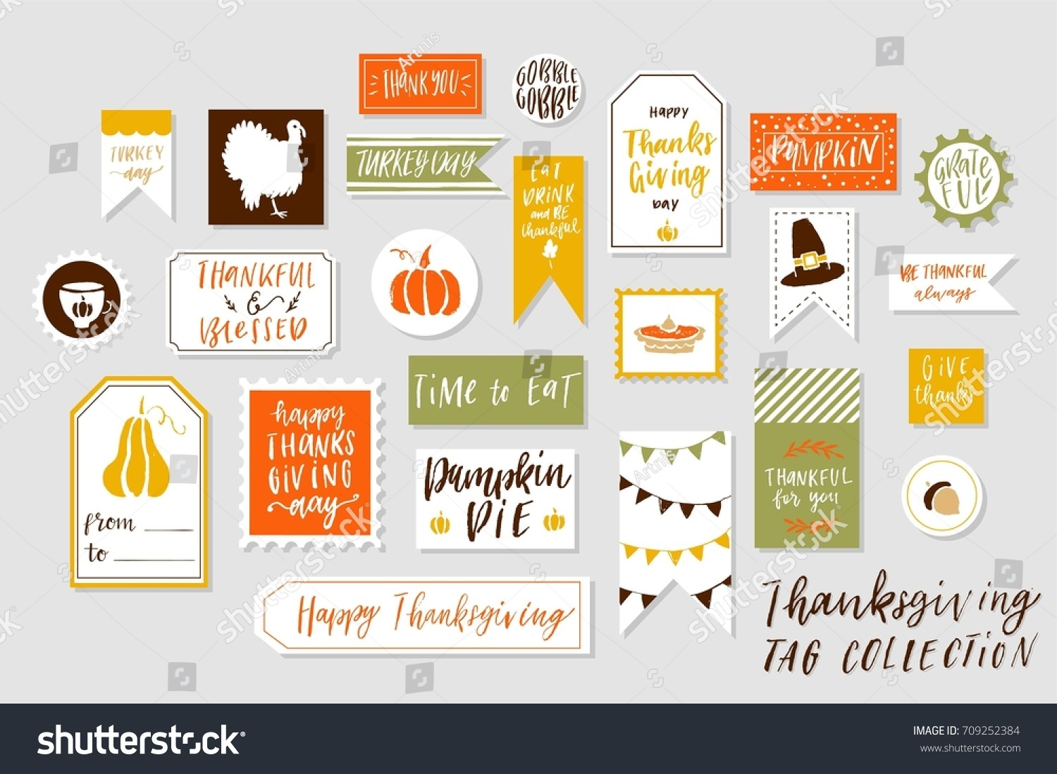 Abstract Bright Textured Colored Thanksgiving Day Stock Photo (Photo ...