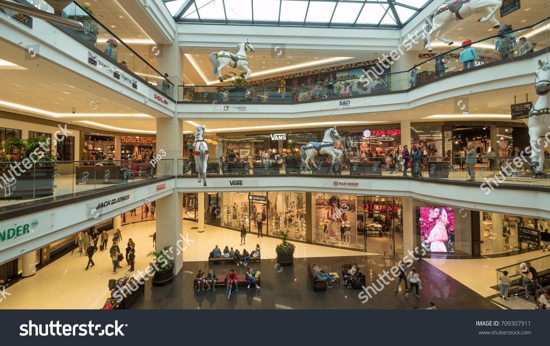 de01f6f4d5 BERLIN GERMANY CIRCA JULY 2017 Shopping Stock Photo (Edit Now ...