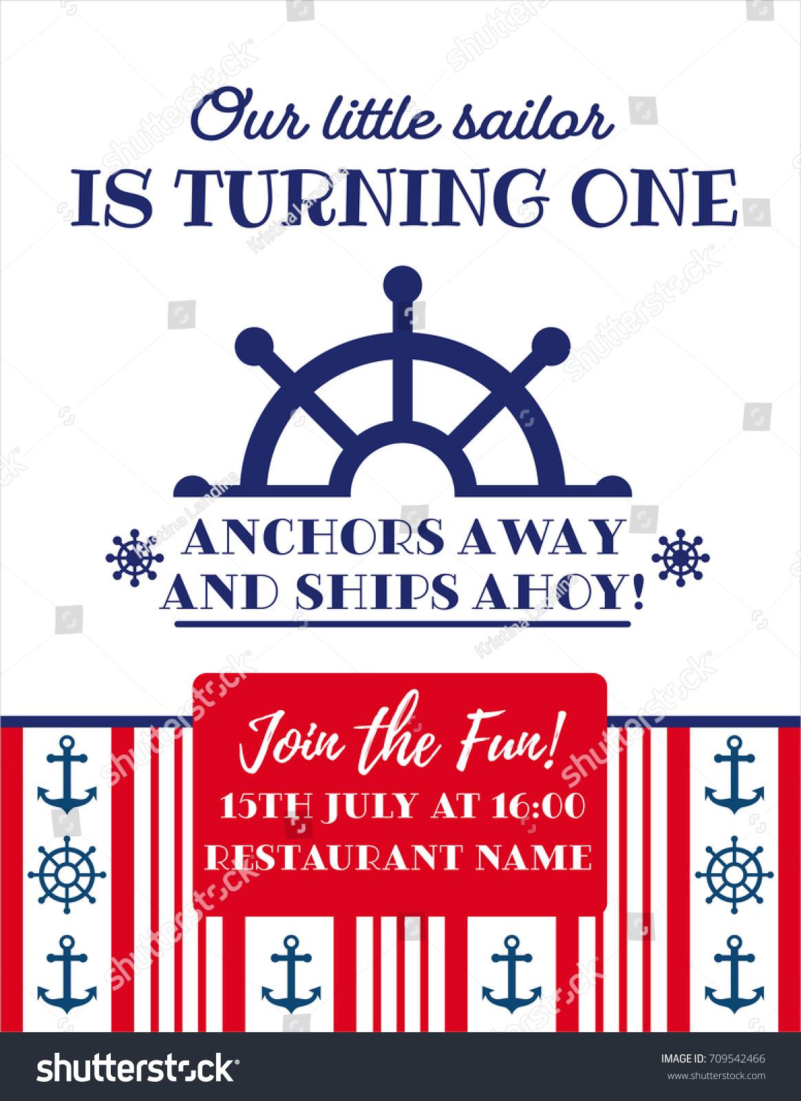 Nautical Party Invitation Choice Image - Party Invitations Ideas