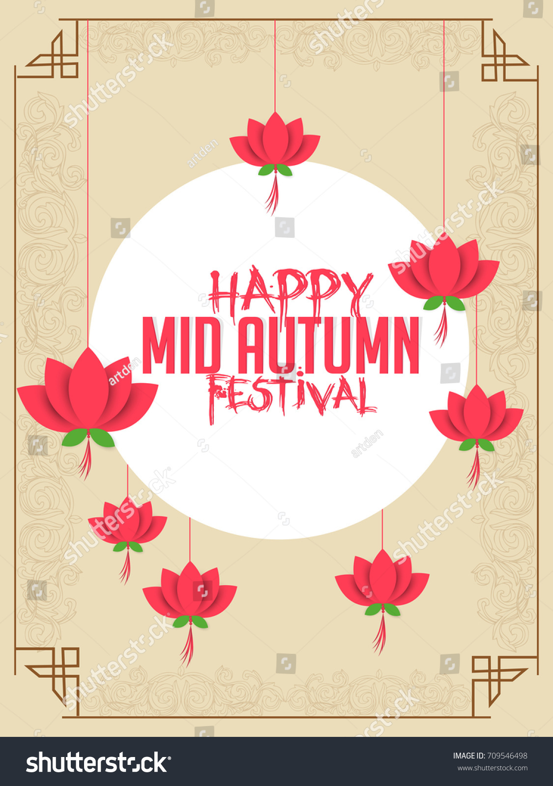 Nice beautiful abstract mid autumn festival stock vector 709546498 nice and beautiful abstract for mid autumn festival with nice and creative design illustration in a kristyandbryce Choice Image
