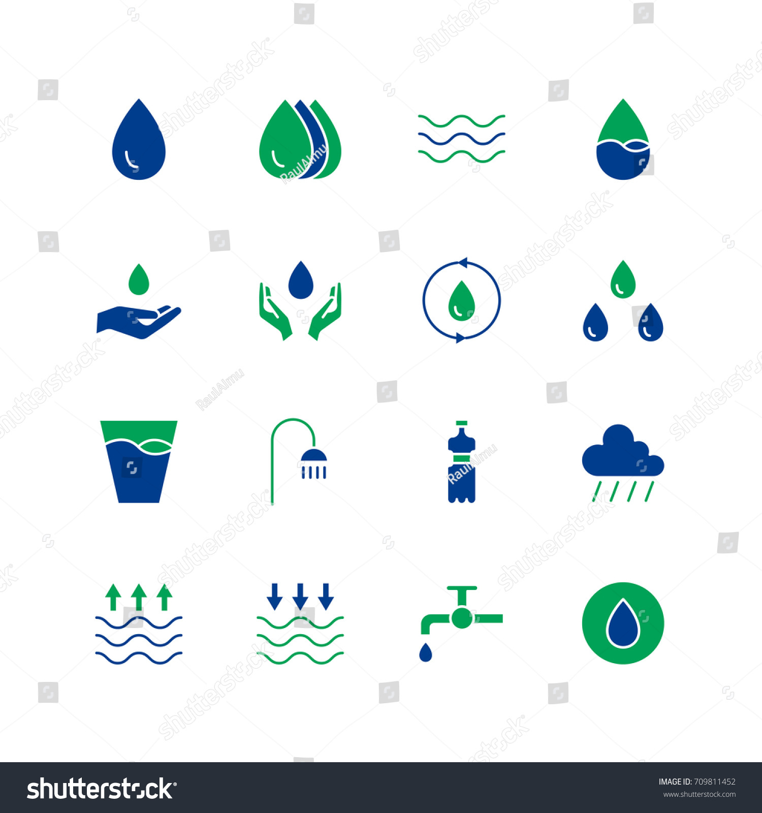 High water symbol clipart library water icon set collection water drop stock vector 709811452 high water soluble fiber foods avatar water buycottarizona Gallery