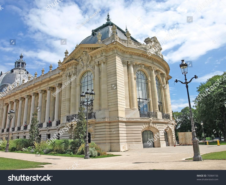 Petit Palais Built World Expo 1900 Stock Photo (Edit Now