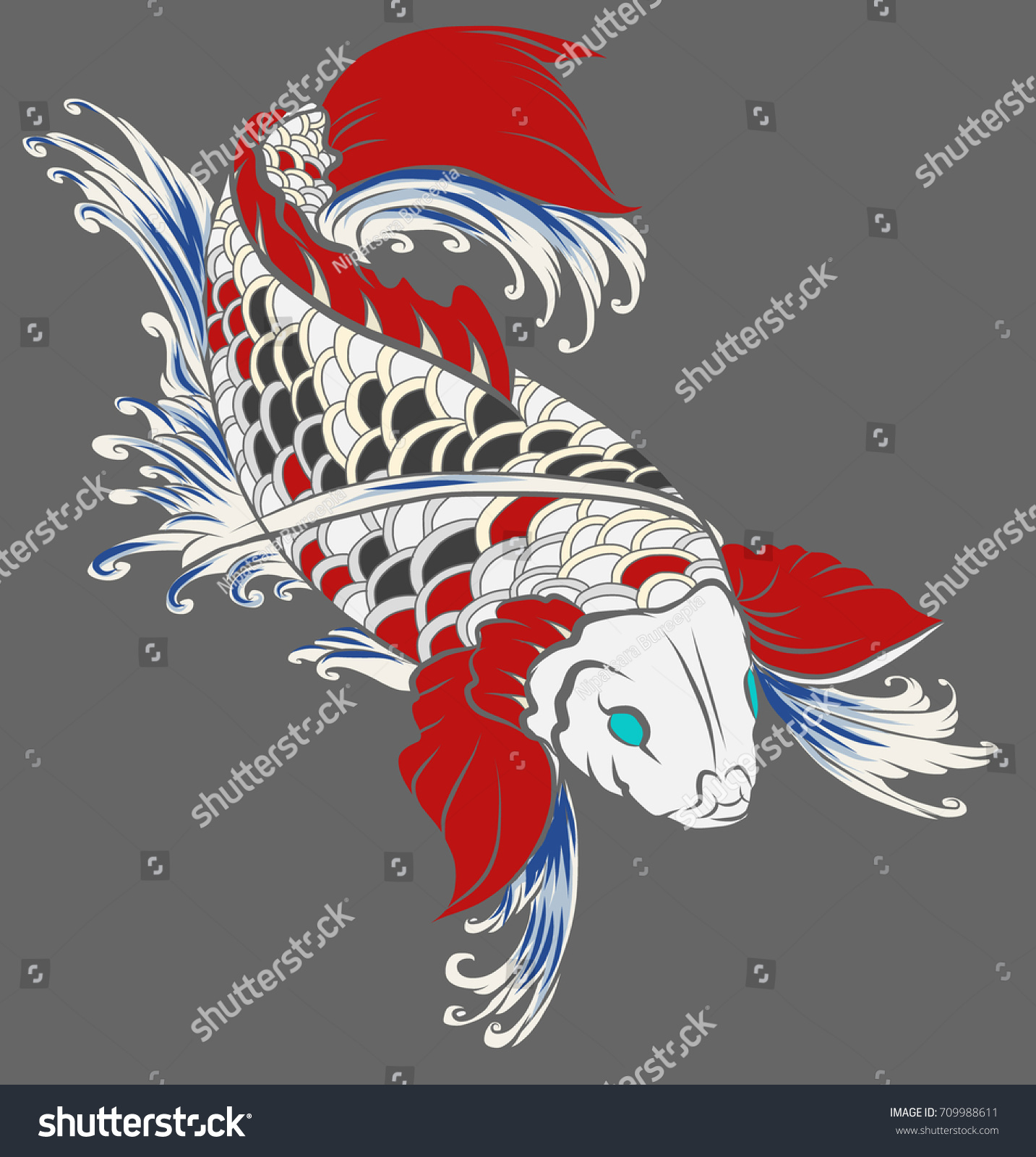 Outstanding Colorful Koi Fish Tattoo Designs Collection - Drawing ...
