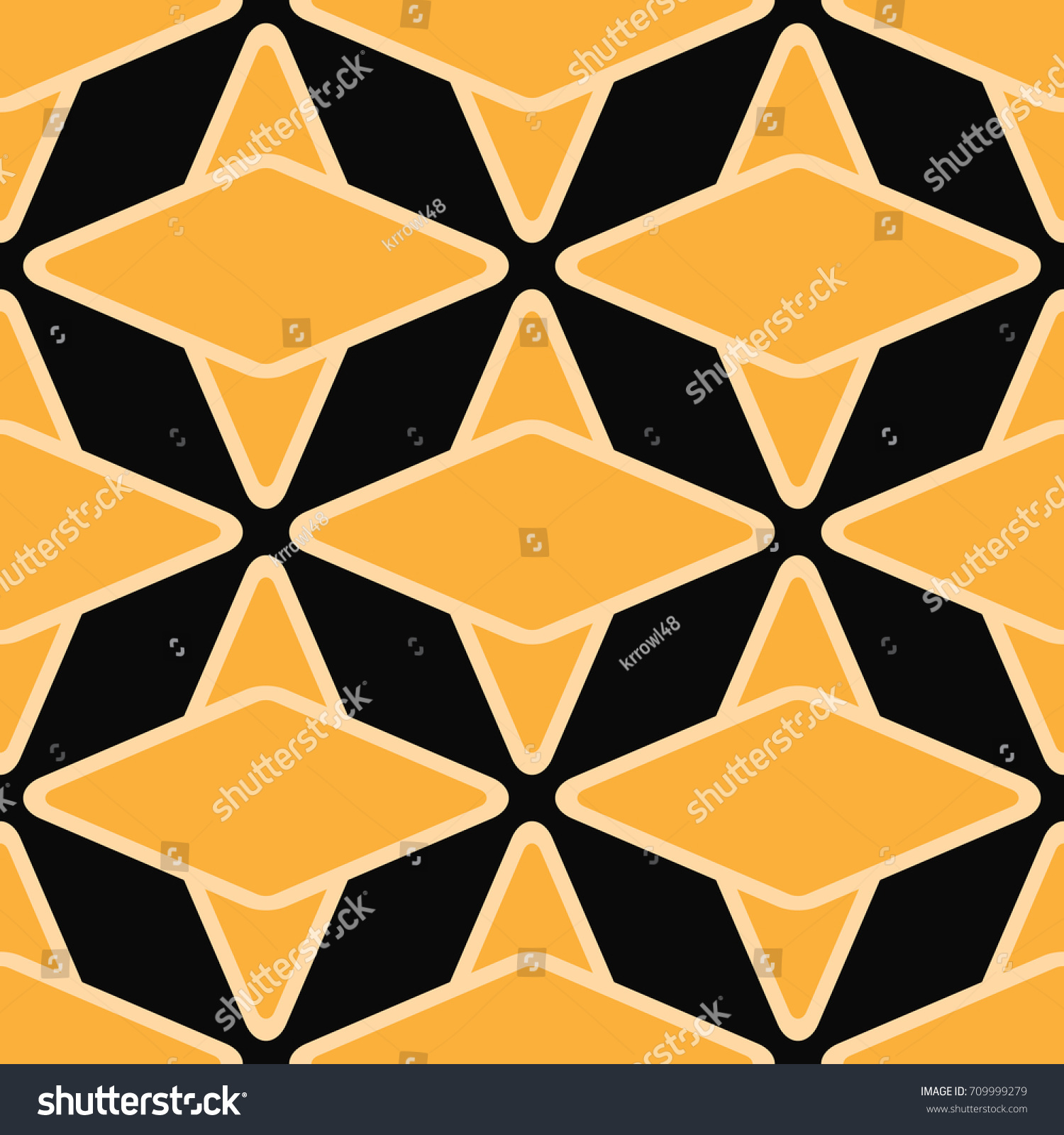 Art Deco Seamless Vintage Wallpaper Pattern Stock Vector (Royalty ...