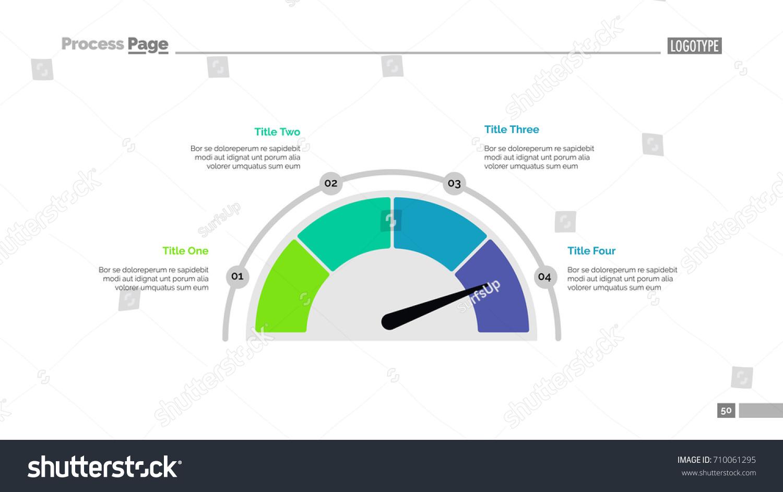 Half pie chart slide template stock vector 710061295 shutterstock half pie chart slide template nvjuhfo Images