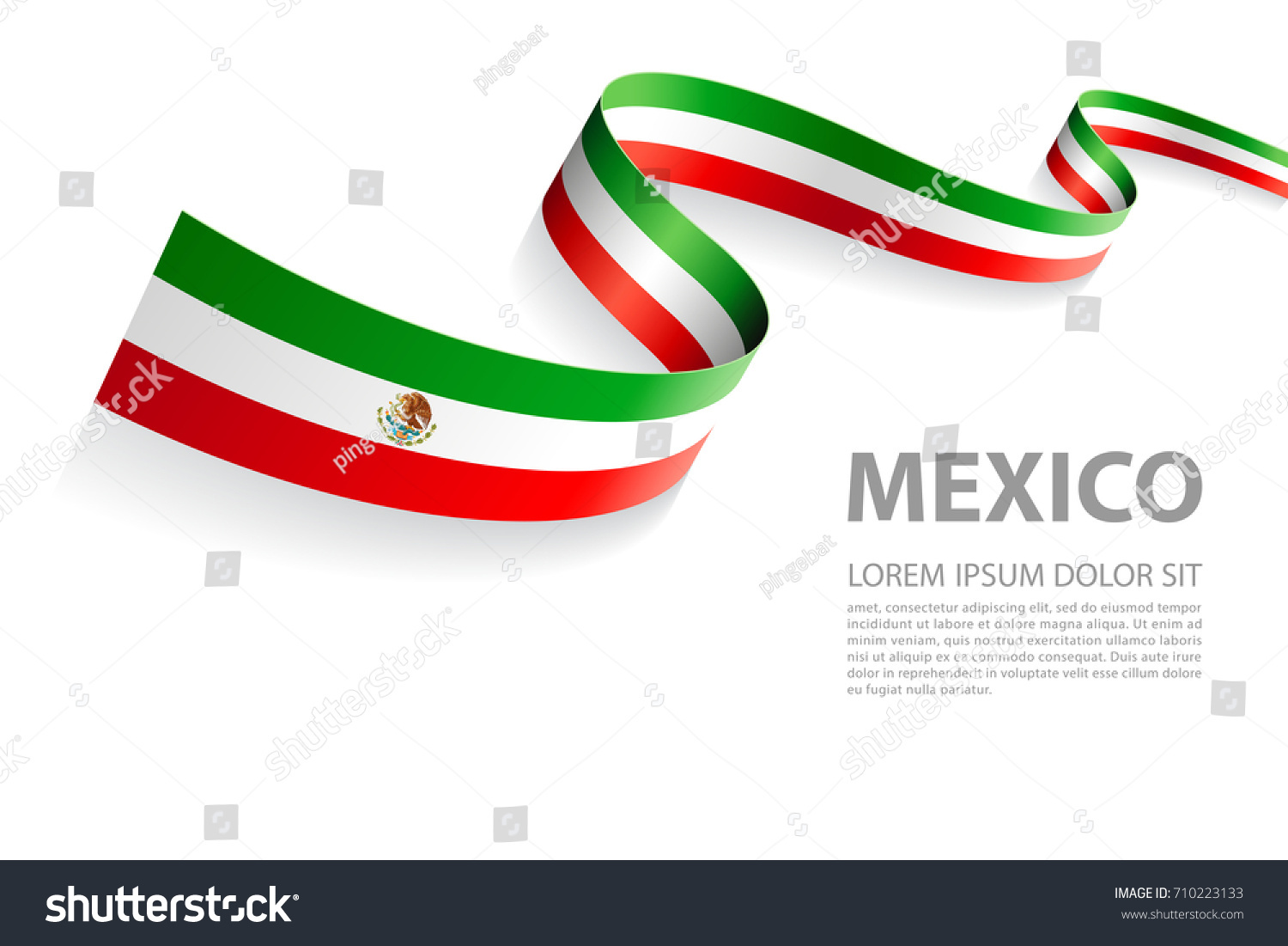 Lovely mexican flag colors images example resume and template vector illustration banner mexican flag colors stock vector biocorpaavc Gallery