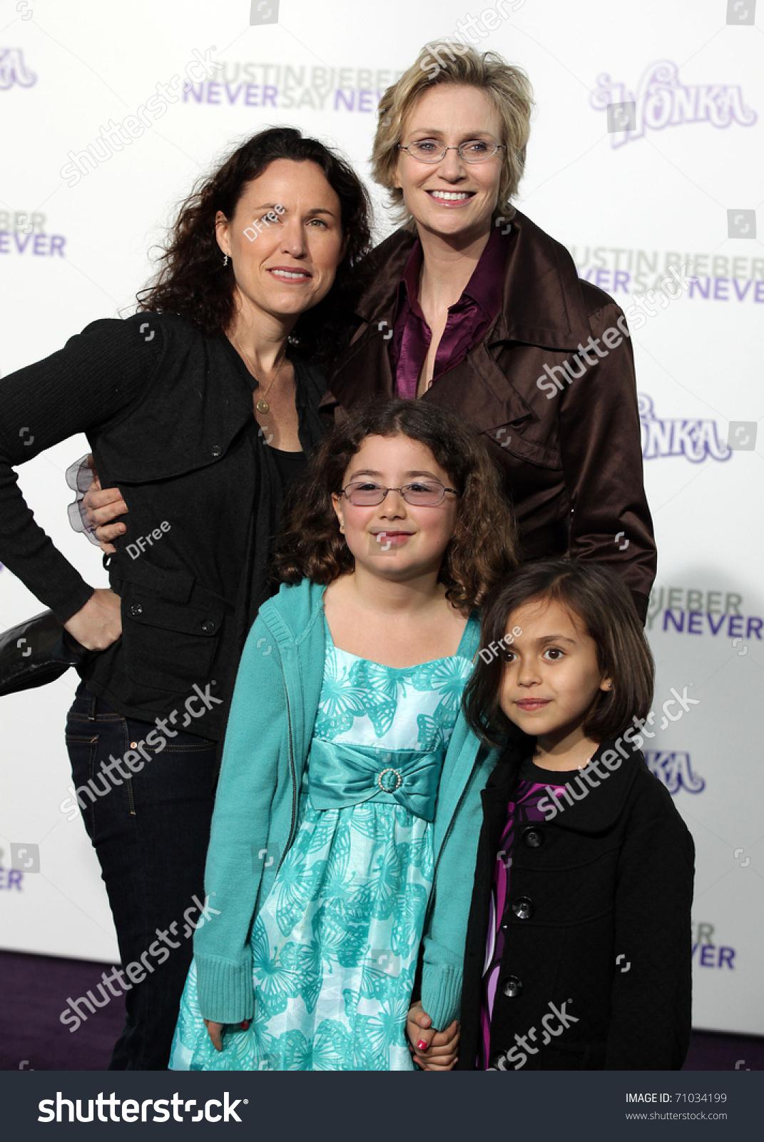 Jane Lynch family