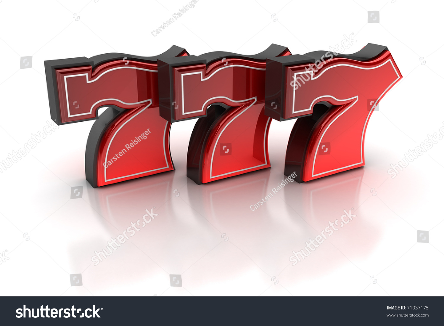 Lucky number seven over white background stock photo - Lucky number 7 wallpaper ...