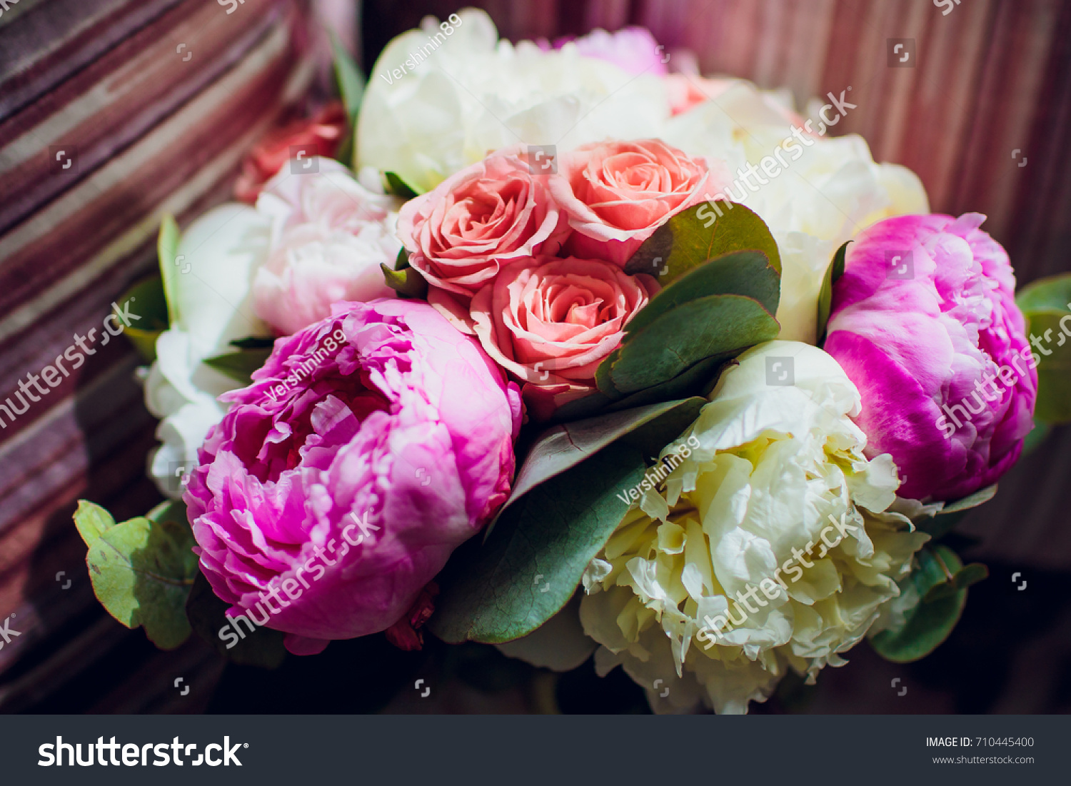 Wedding Bouquet Bouquet Flower Rose Pink Stock Photo (Royalty Free ...