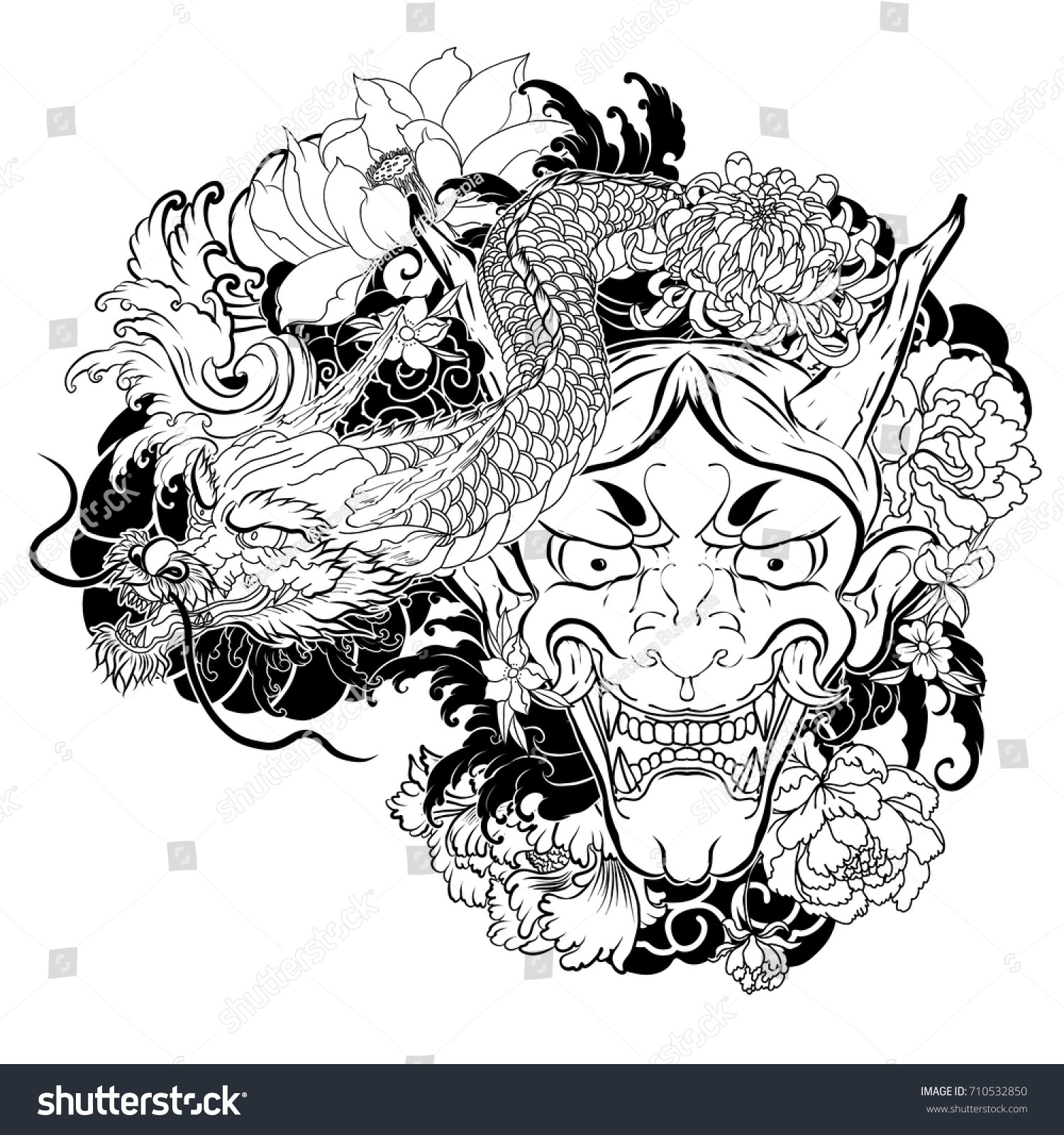 Demon Tattoos and Designs| Page 81 |Demon Japanese Traditional Designs