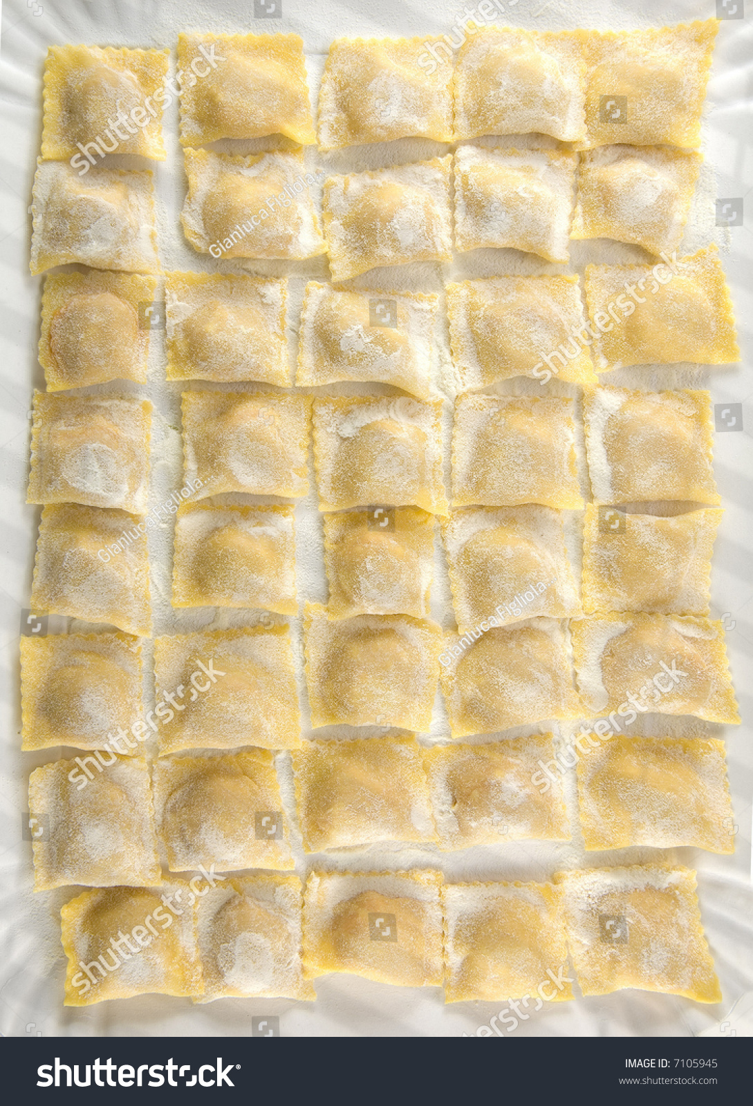 Tortelli Ravioli Fresh Home-Made Home Made Pasta Filled Pumpkin ...