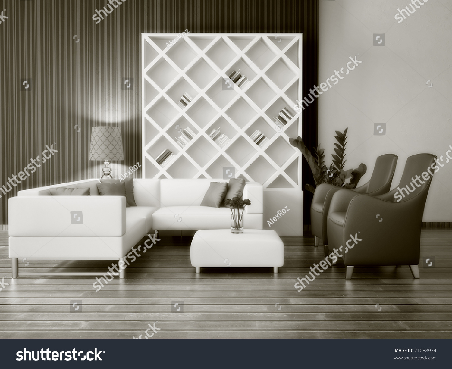 Modern interior room with nice furniture inside stock photo 71088934 shutterstock - Nice interior pic ...