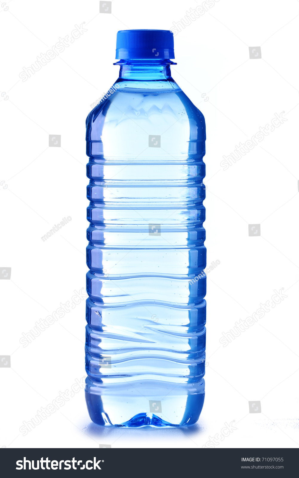 Small polycarbonate plastic bottle mineral water stock for Plastic water bottle art