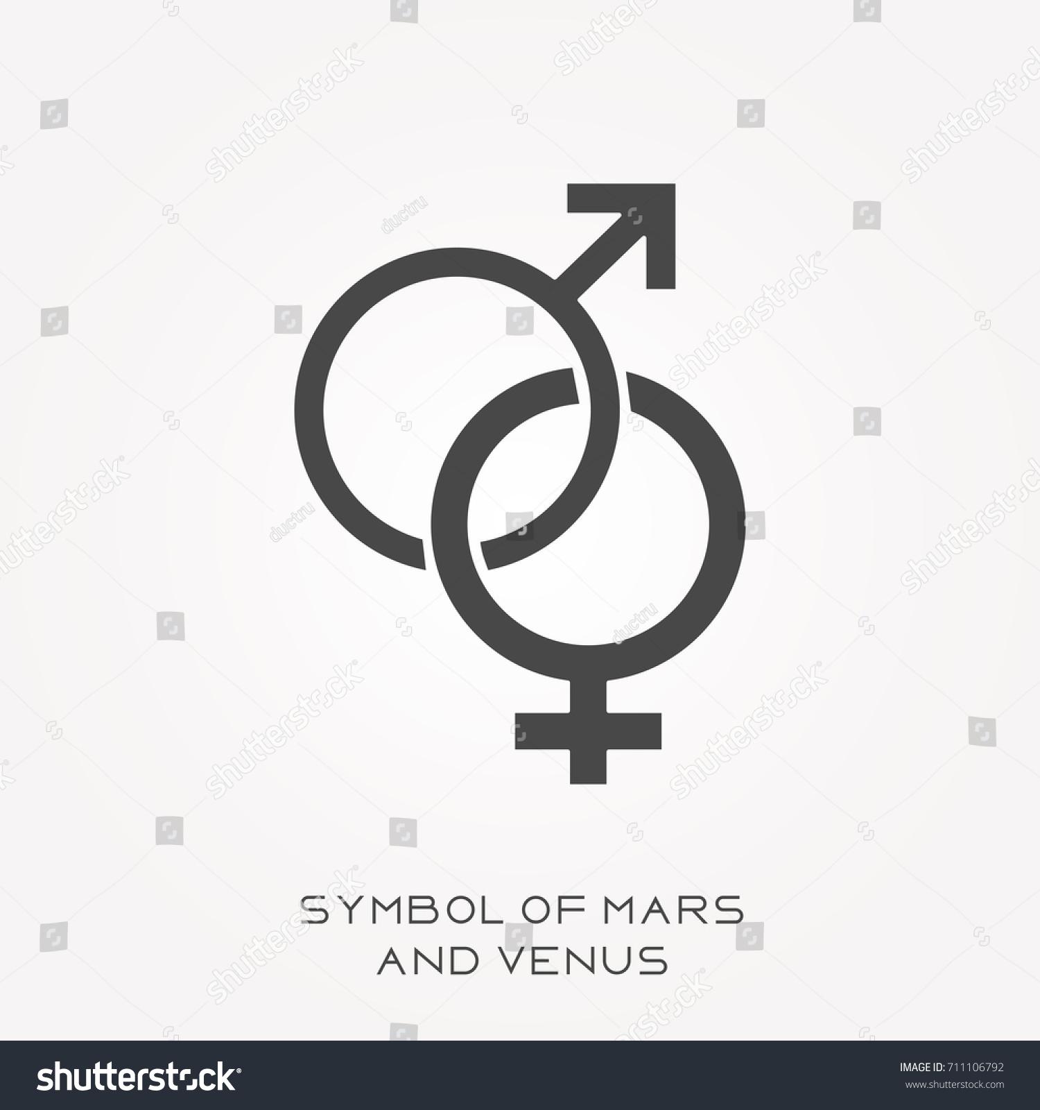 The symbol for mars restaurant floor plan silhouette icon symbol mars venus stock vector 711106792 stock vector silhouette icon symbol of mars and buycottarizona