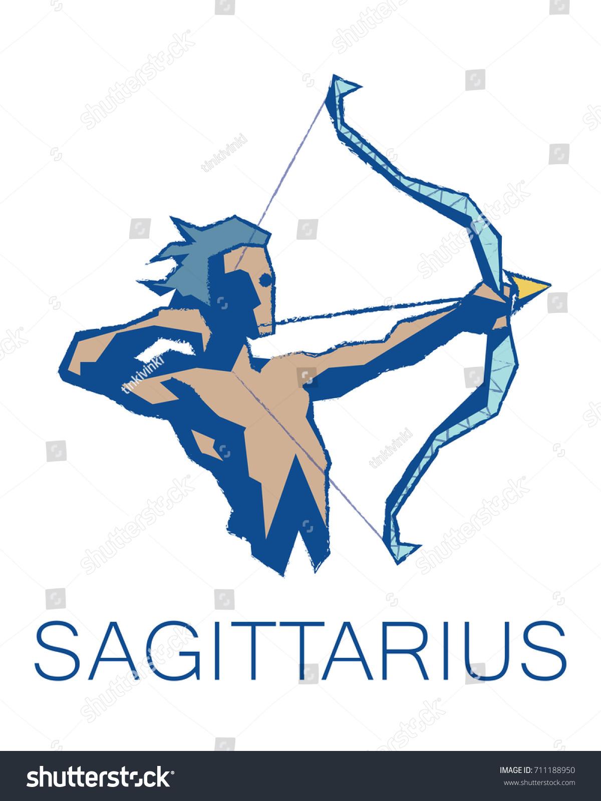 Sagittarius zodiac sign astrology symbol illustration stock sagittarius zodiac sign astrology symbol illustration in flat polygonal style element for your biocorpaavc