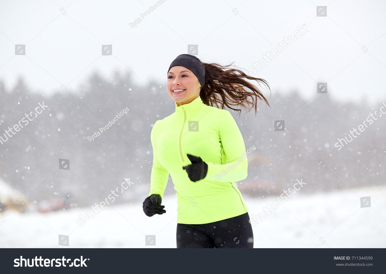 Fitness Sport People Season Healthy Lifestyle Stock Photo